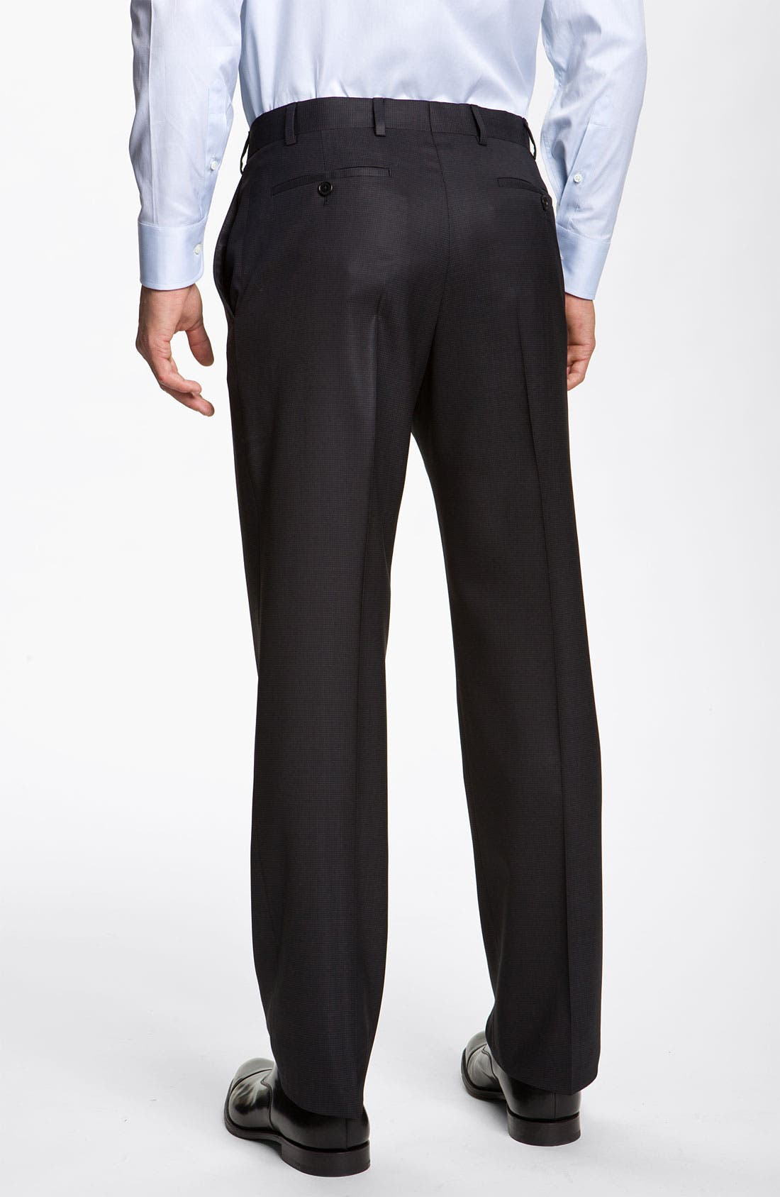 Alternate Image 5  - Armani Collezioni 'Giorgio' Trim Fit Wool Suit