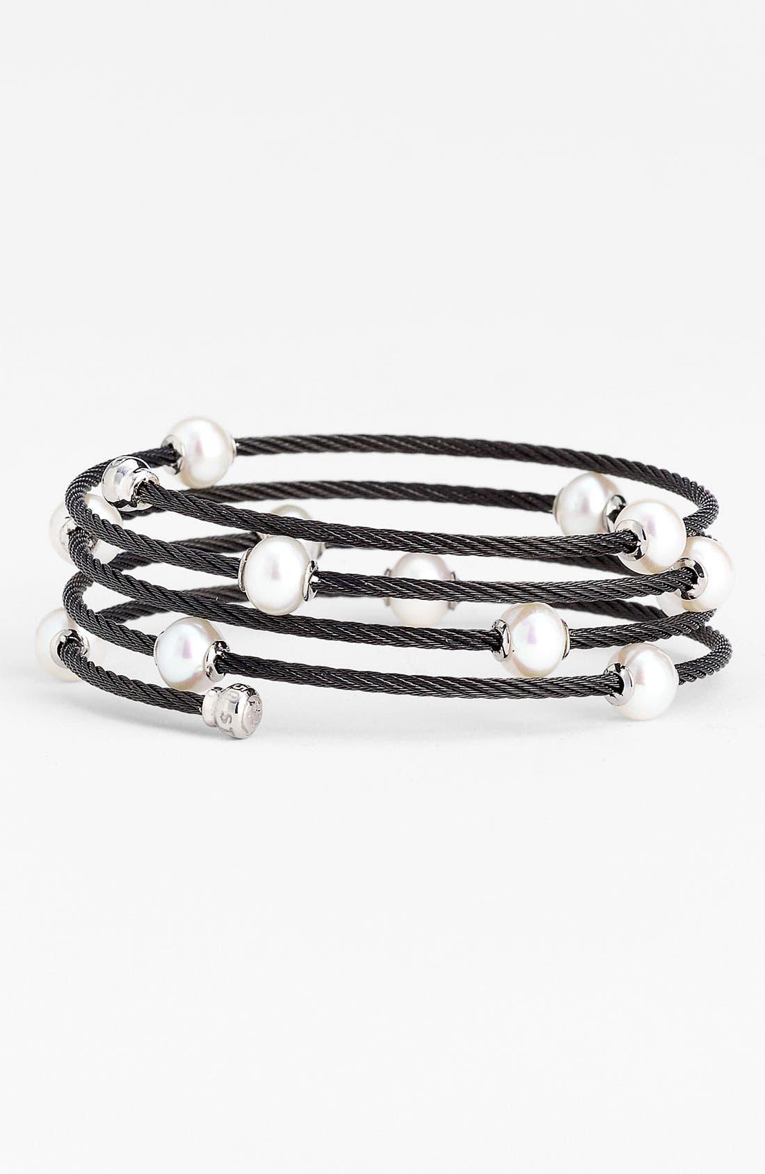 Main Image - ALOR® Pearl Cable Bracelet