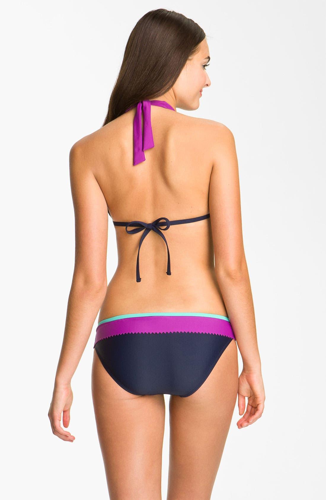 Alternate Image 5  - Eco Swim Halter Bikini Top