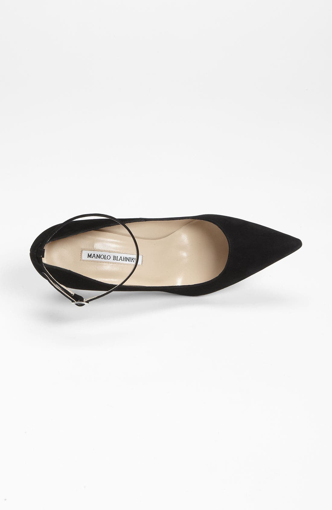 Alternate Image 3  - Manolo Blahnik Ankle Strap Pump