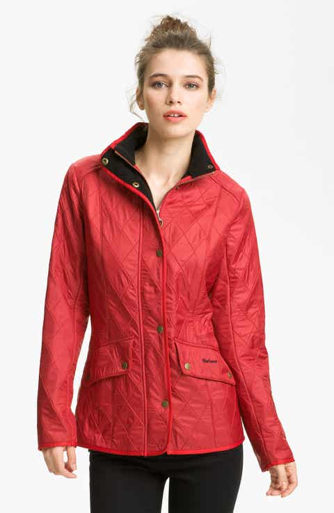 Women's Red Quilted Jackets | Nordstrom
