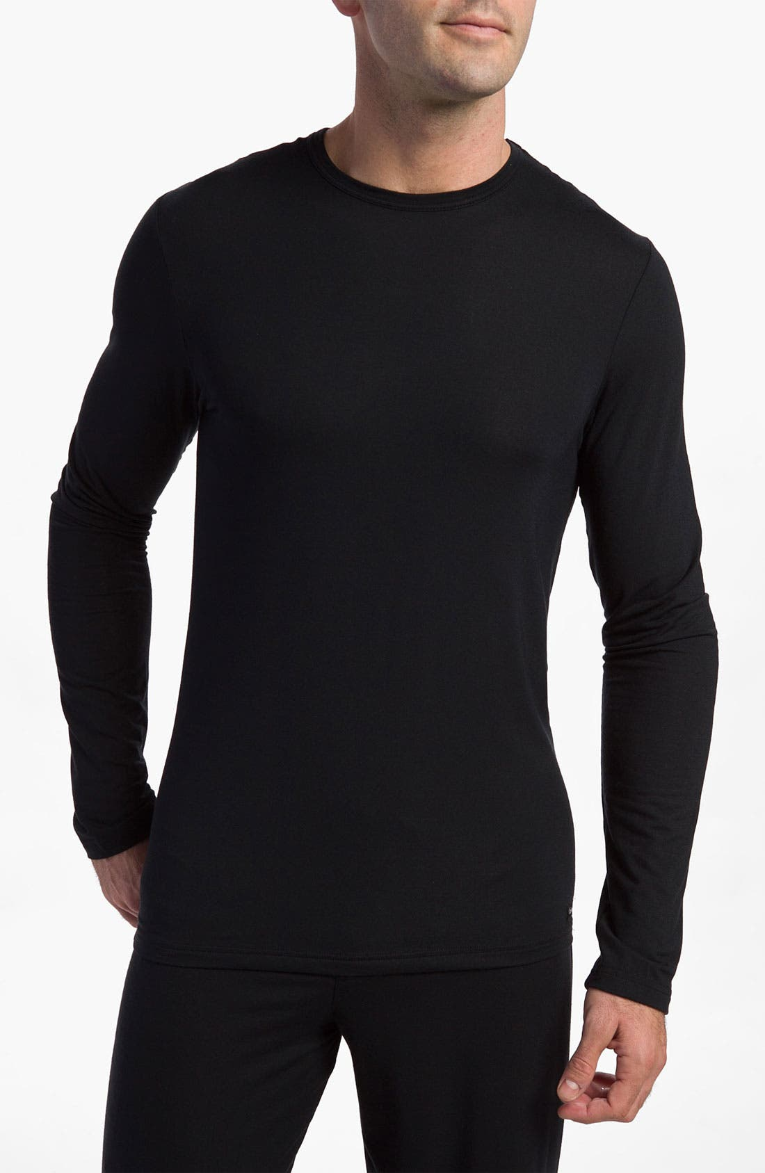 Alternate Image 1 Selected - Calvin Klein 'U1139' Micromodal Long Sleeve T-Shirt