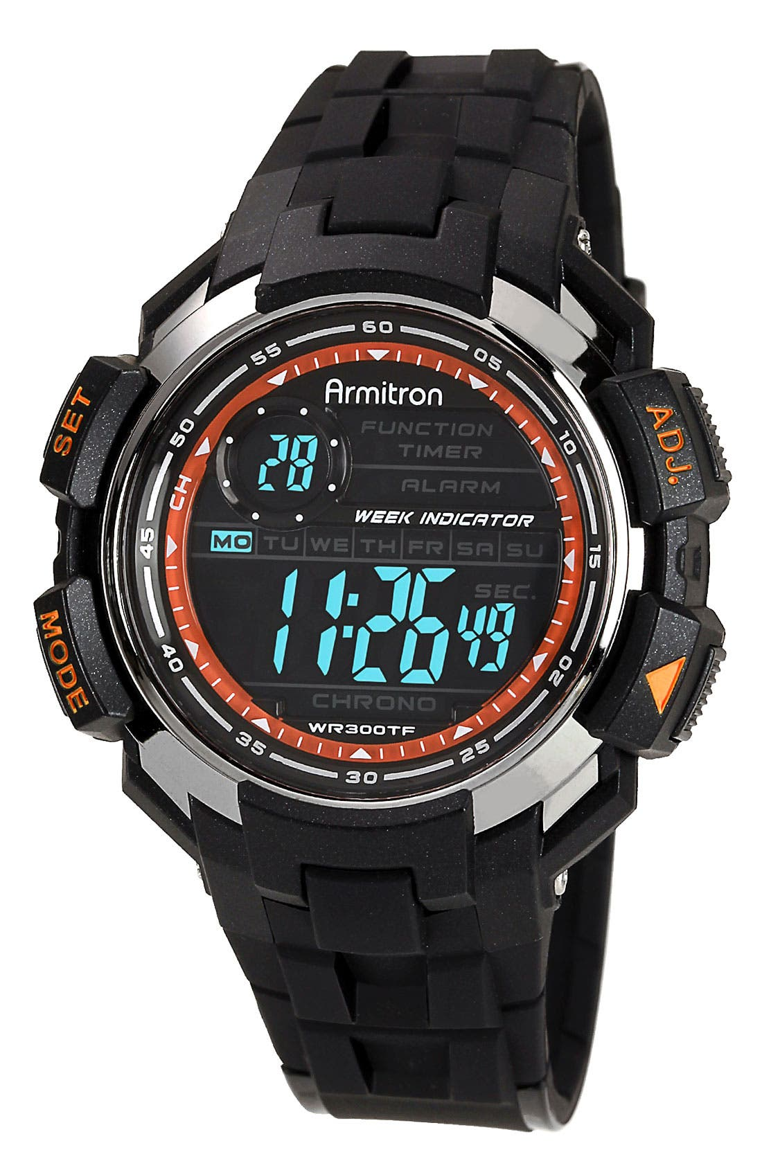 Main Image - Armitron Digital Resin Watch, 47mm