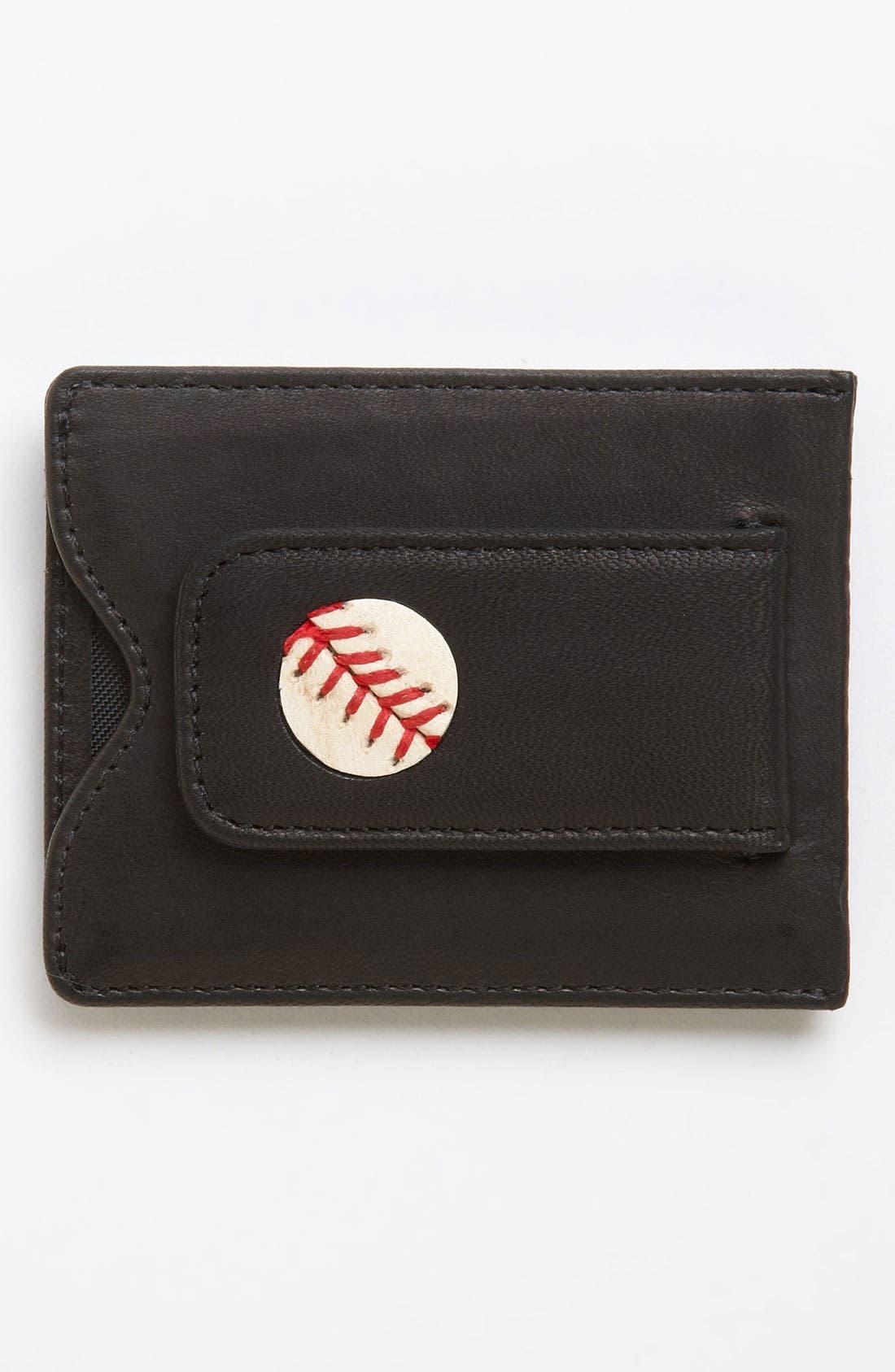 Alternate Image 1 Selected - Tokens & Icons 'New York Yankees' MLB™ Game-Played-Baseball Card Case
