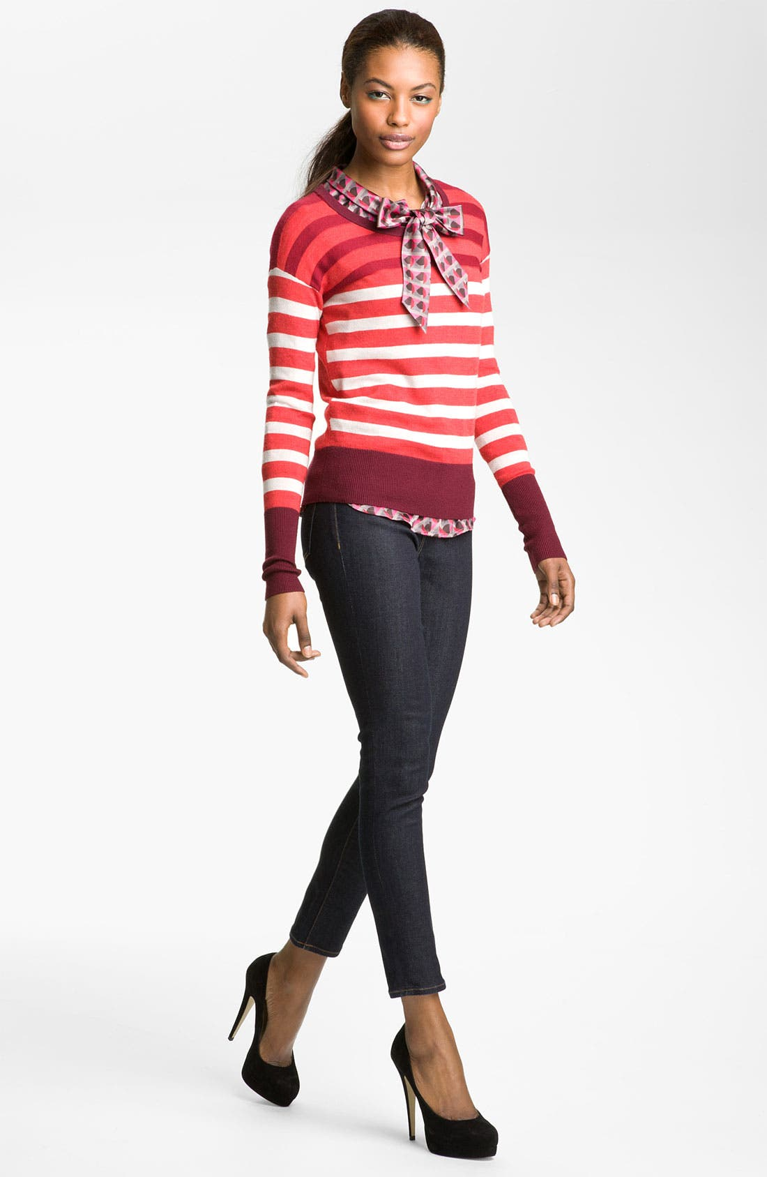 Alternate Image 4  - MARC BY MARC JACOBS 'Yasmin' Stripe Sweater