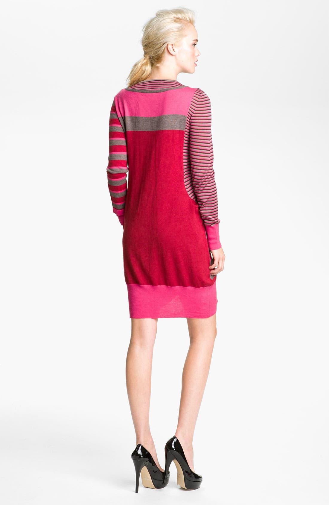 Alternate Image 2  - MARC BY MARC JACOBS 'Yaani' Twin Stripe Sweater Dress