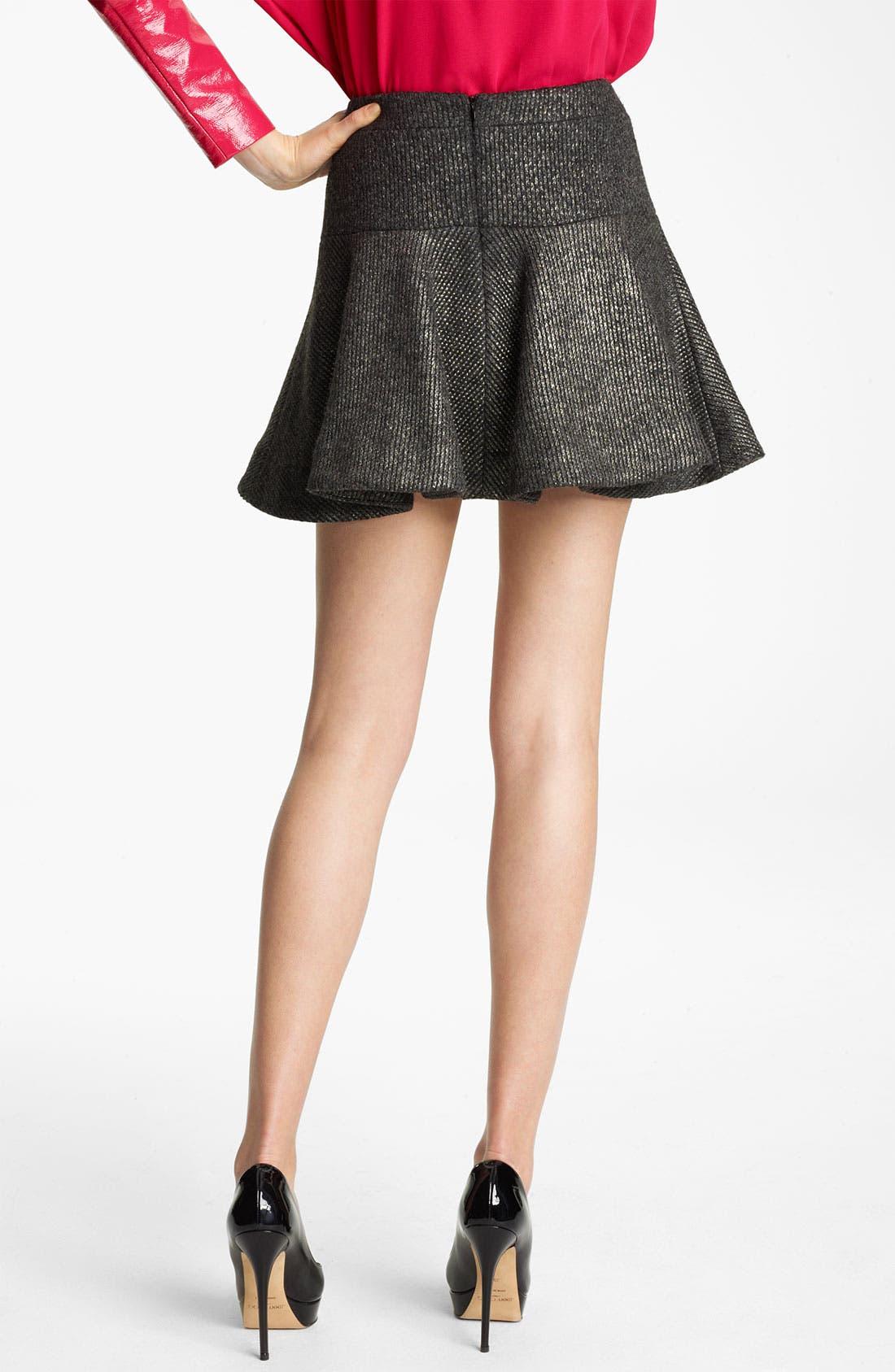 Alternate Image 2  - Thakoon Foiled Knit Skirt