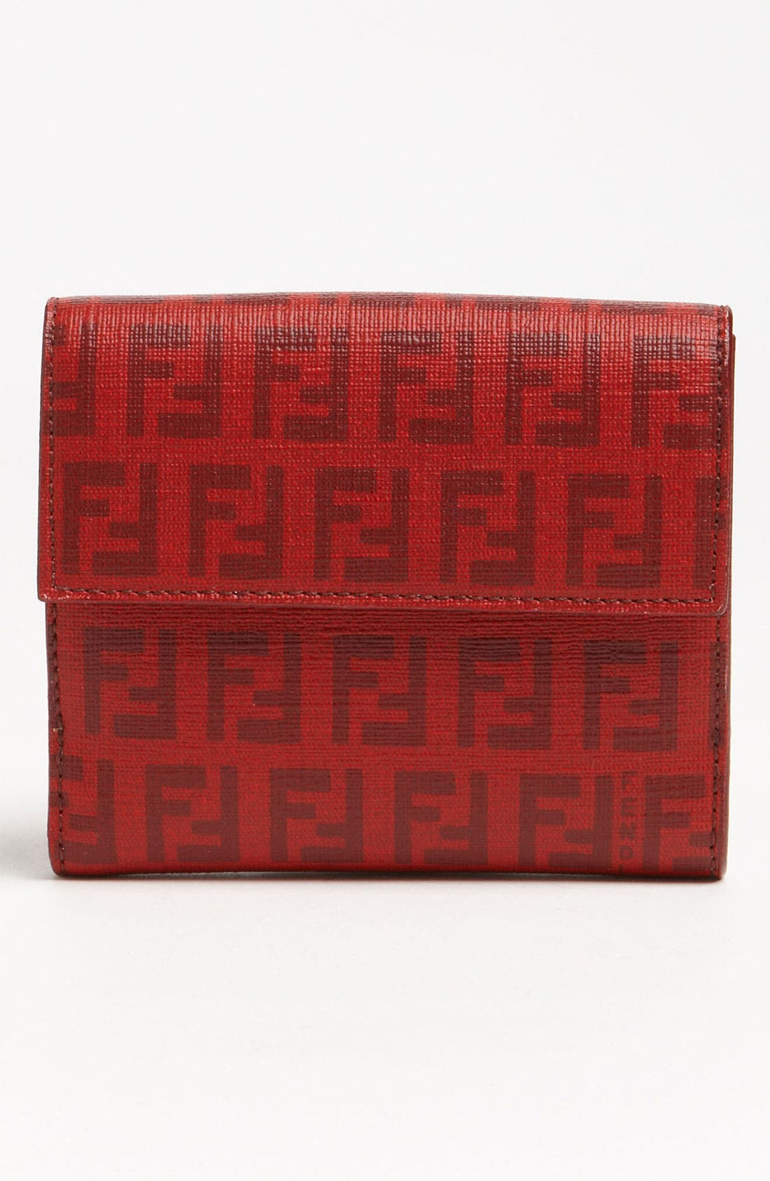 Alternate Image 4  - Fendi 'Forever Flowers' French Wallet