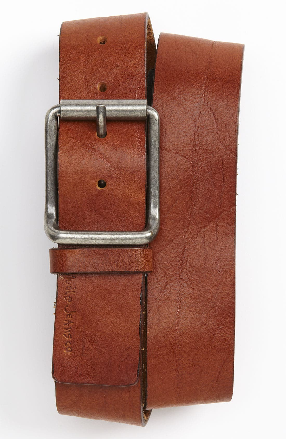 Alternate Image 1 Selected - Nudie 'Joelsson' Leather Belt