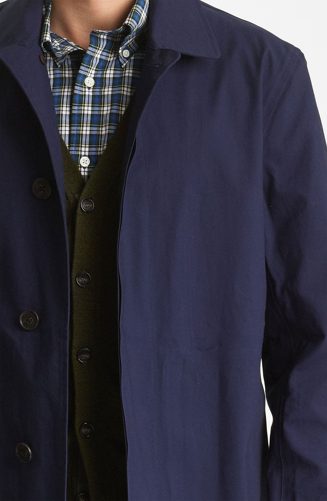 Alternate Image 3  - Jack Spade Bonded Raincoat
