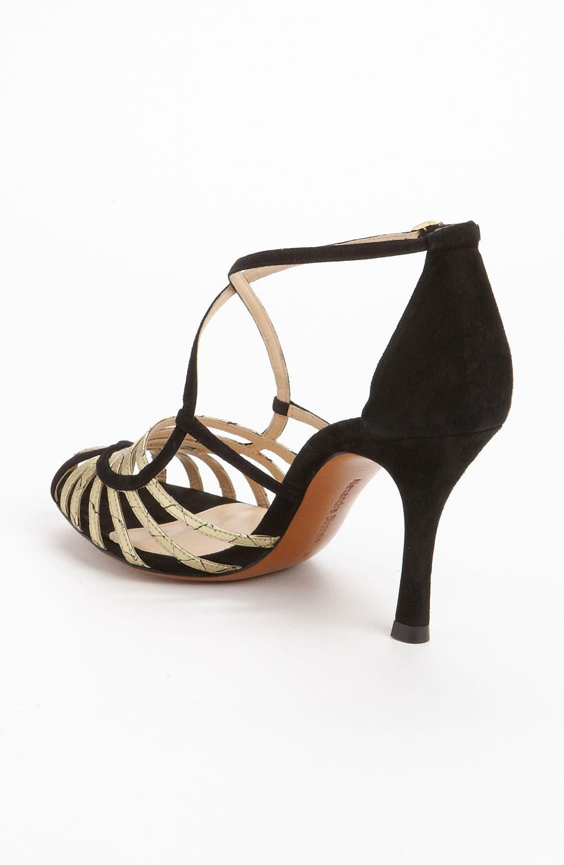 Alternate Image 2  - Alexandre Birman Genuine Python Strap Sandal (Exclusive Color)