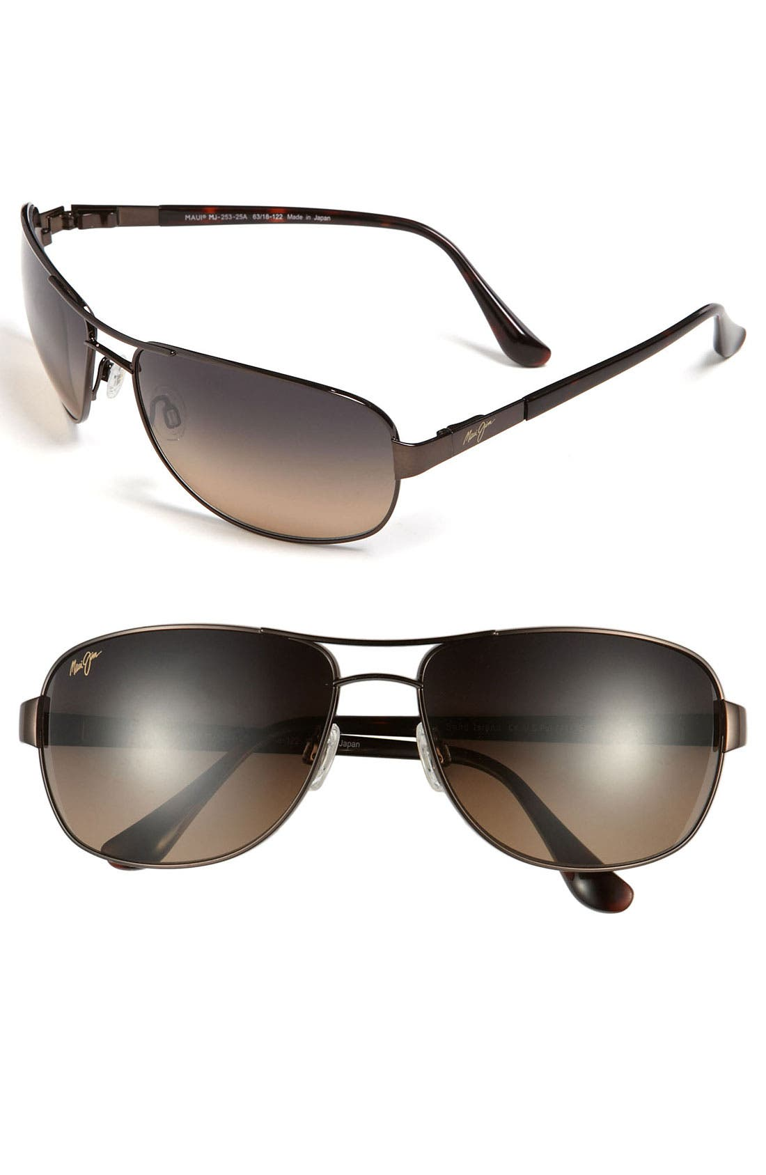 MAUI JIM Sand Island PolarizedPlus<sup>®</sup>2 63mm Sunglasses