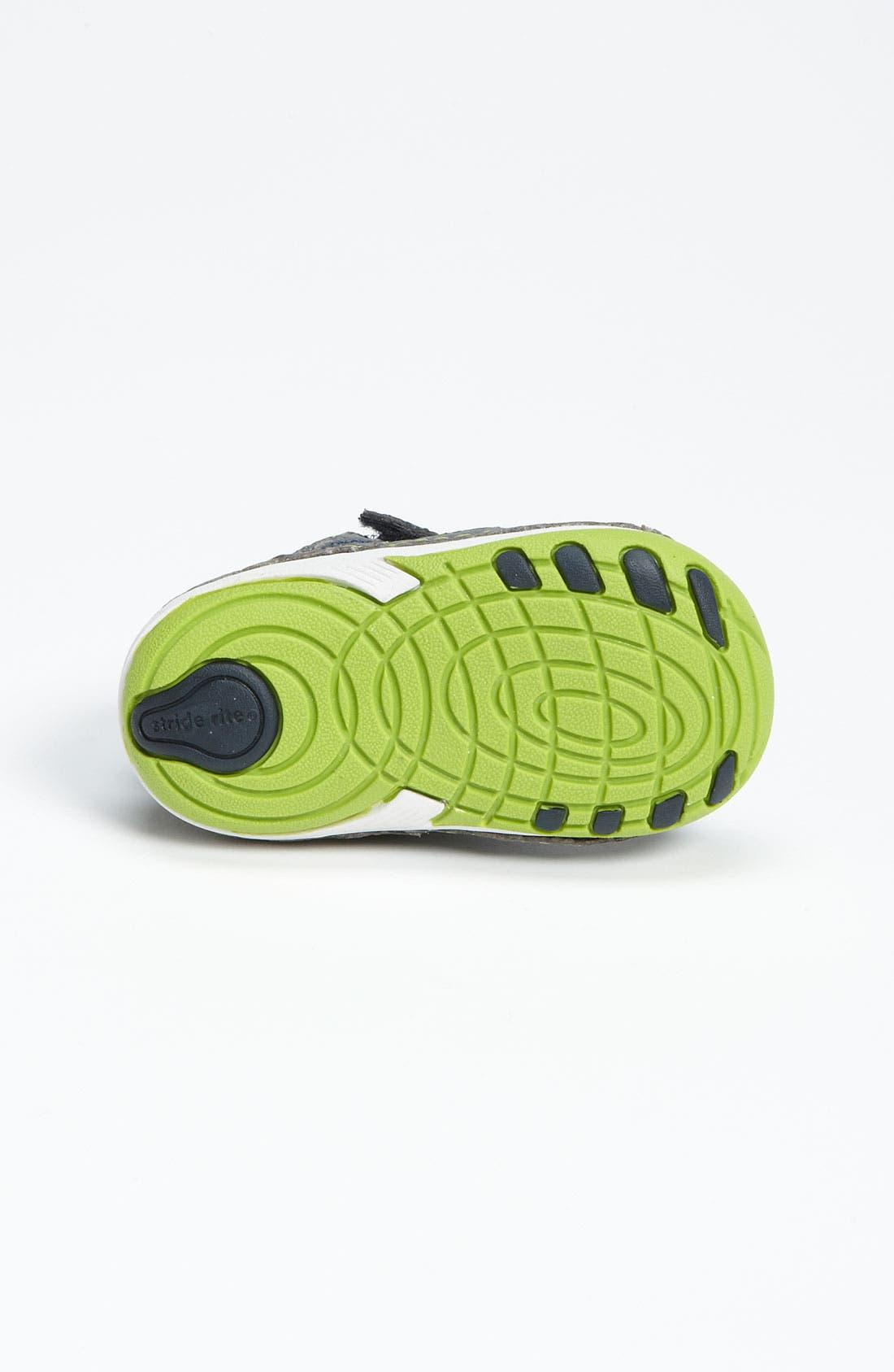 Alternate Image 4  - Stride Rite 'Conner' Sneaker (Baby & Walker)