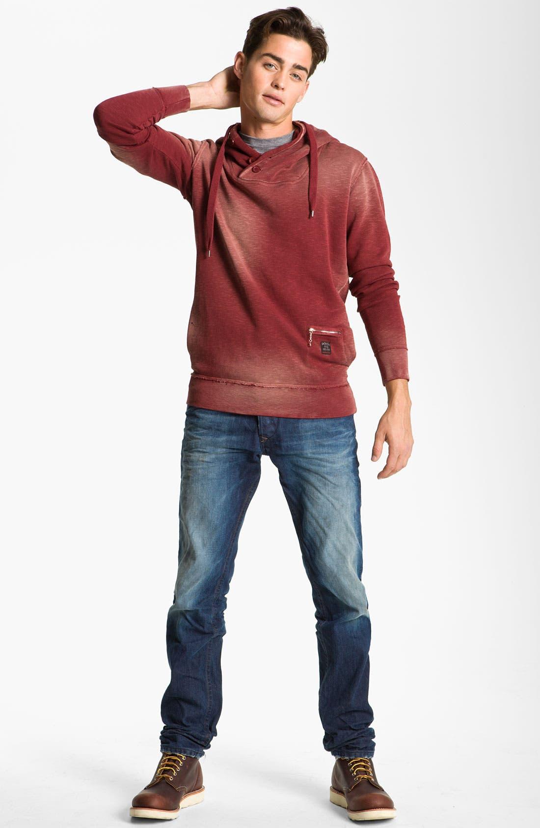 Alternate Image 5  - DIESEL® 'Darron' Slim Tapered Leg Jeans (0803W)