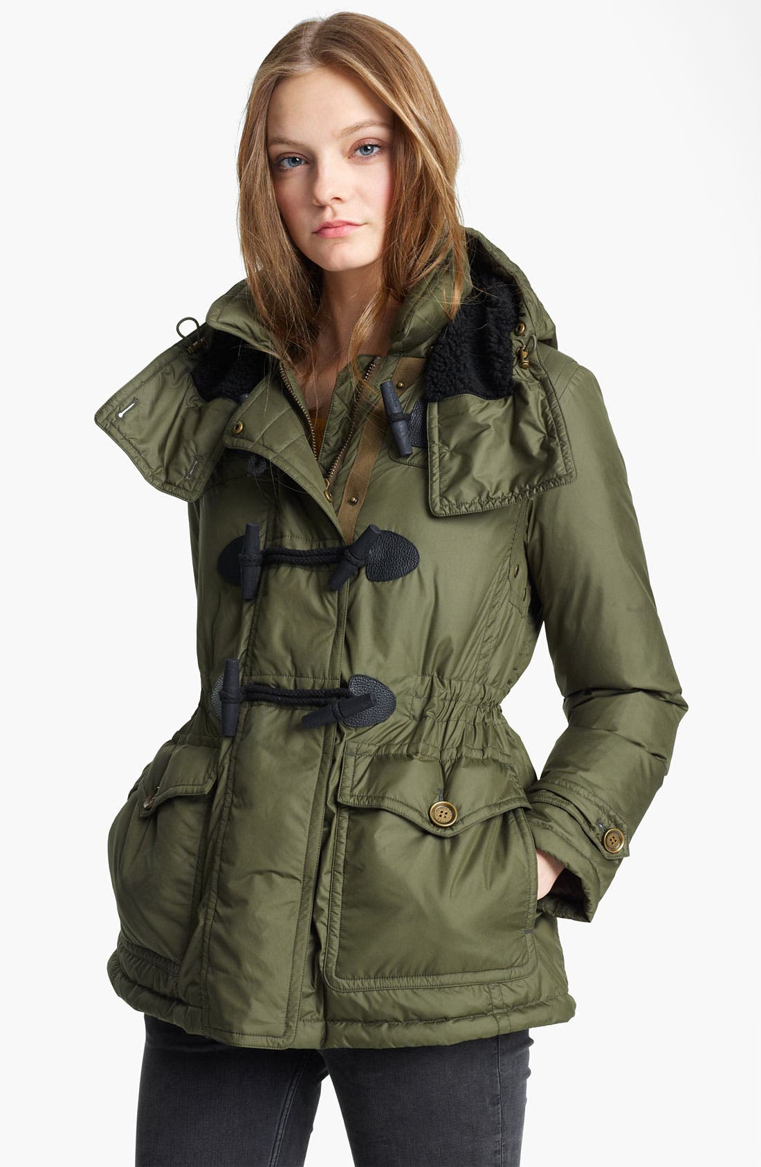 Main Image - Burberry Brit 'Worthings' Toggle Parka