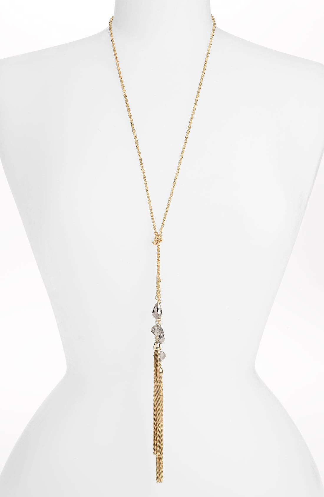Main Image - Cara Tassel Y-Necklace