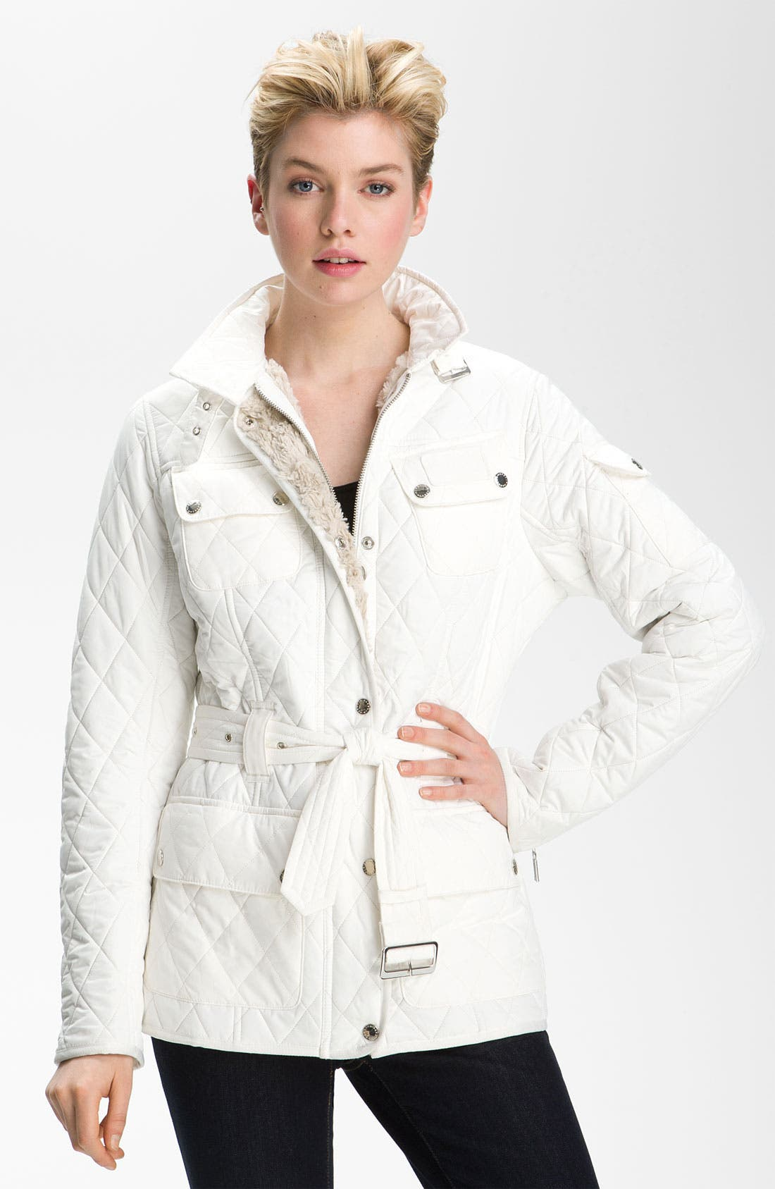 Main Image - Barbour 'International Polar' Quilted Jacket (Online Exclusive)