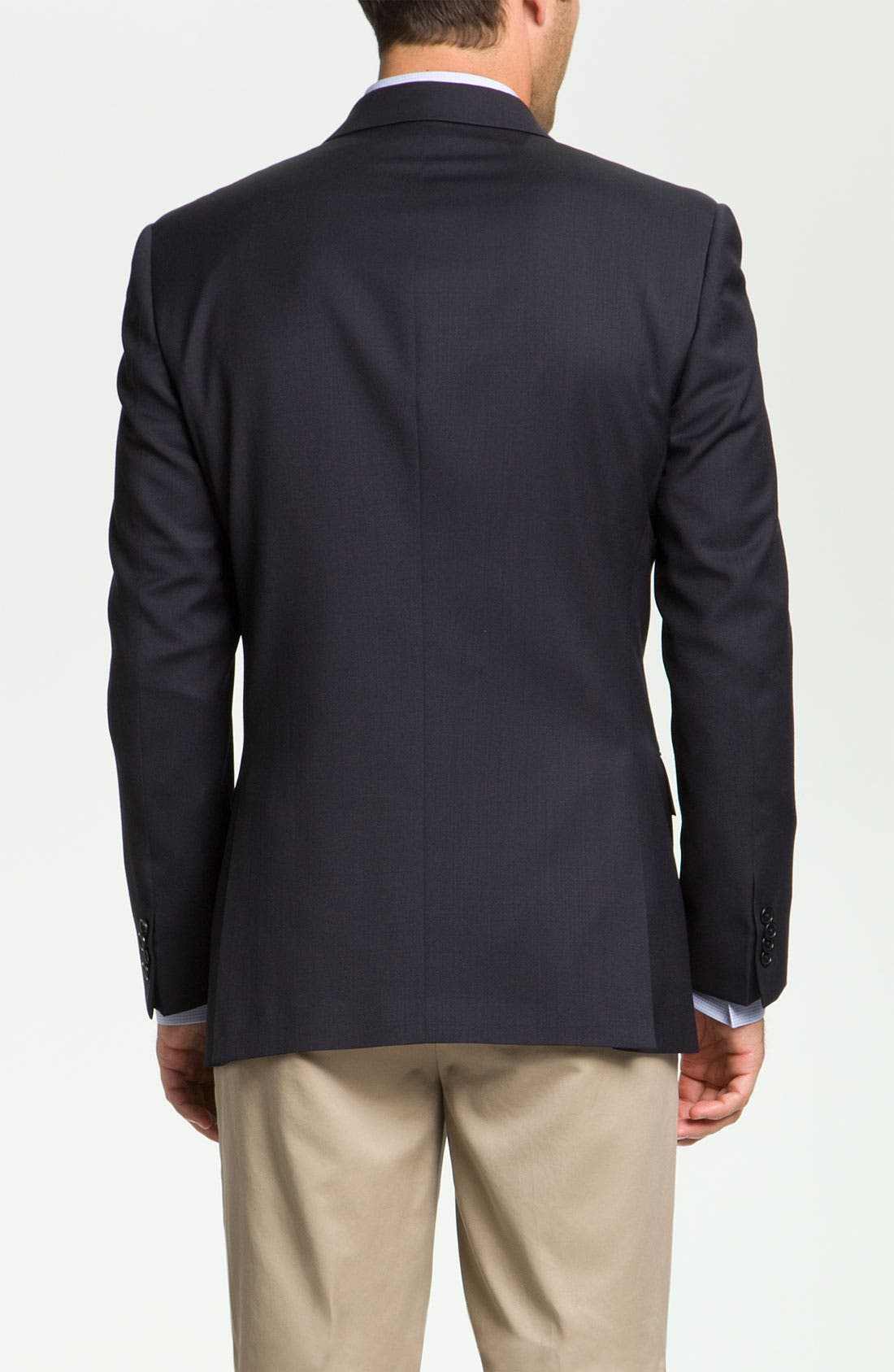 Alternate Image 2  - John Varvatos Star USA 'Loft' Trim Fit Wool Jacket