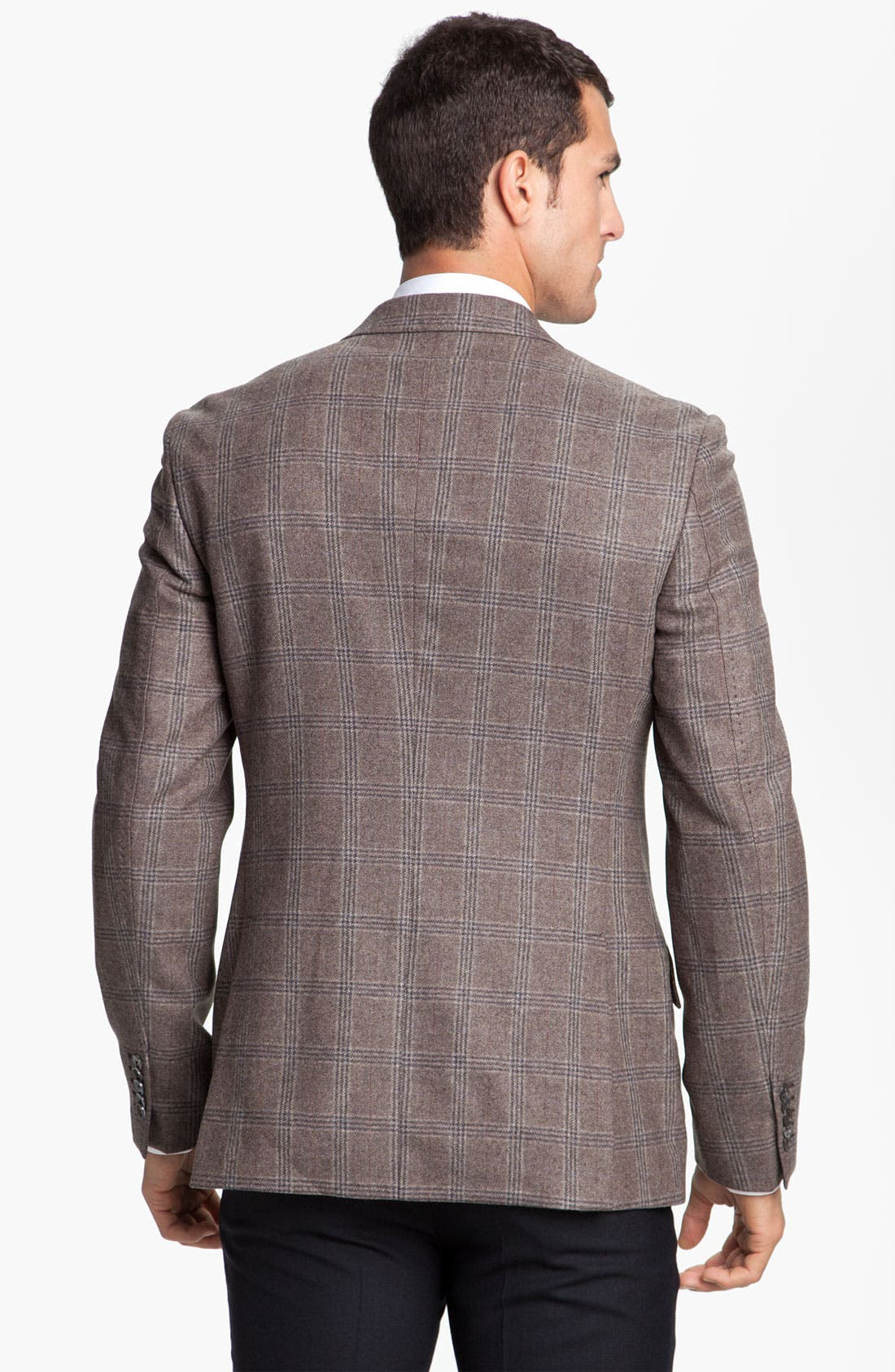Alternate Image 2  - Paul Smith London Windowpane Plaid Blazer