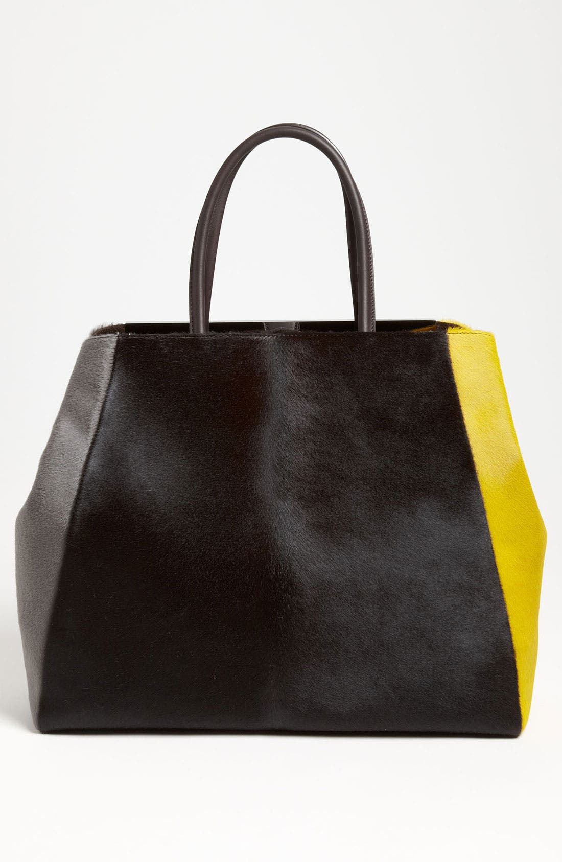 Alternate Image 4  - Fendi '2Jours - Large' Calf Hair Shopper
