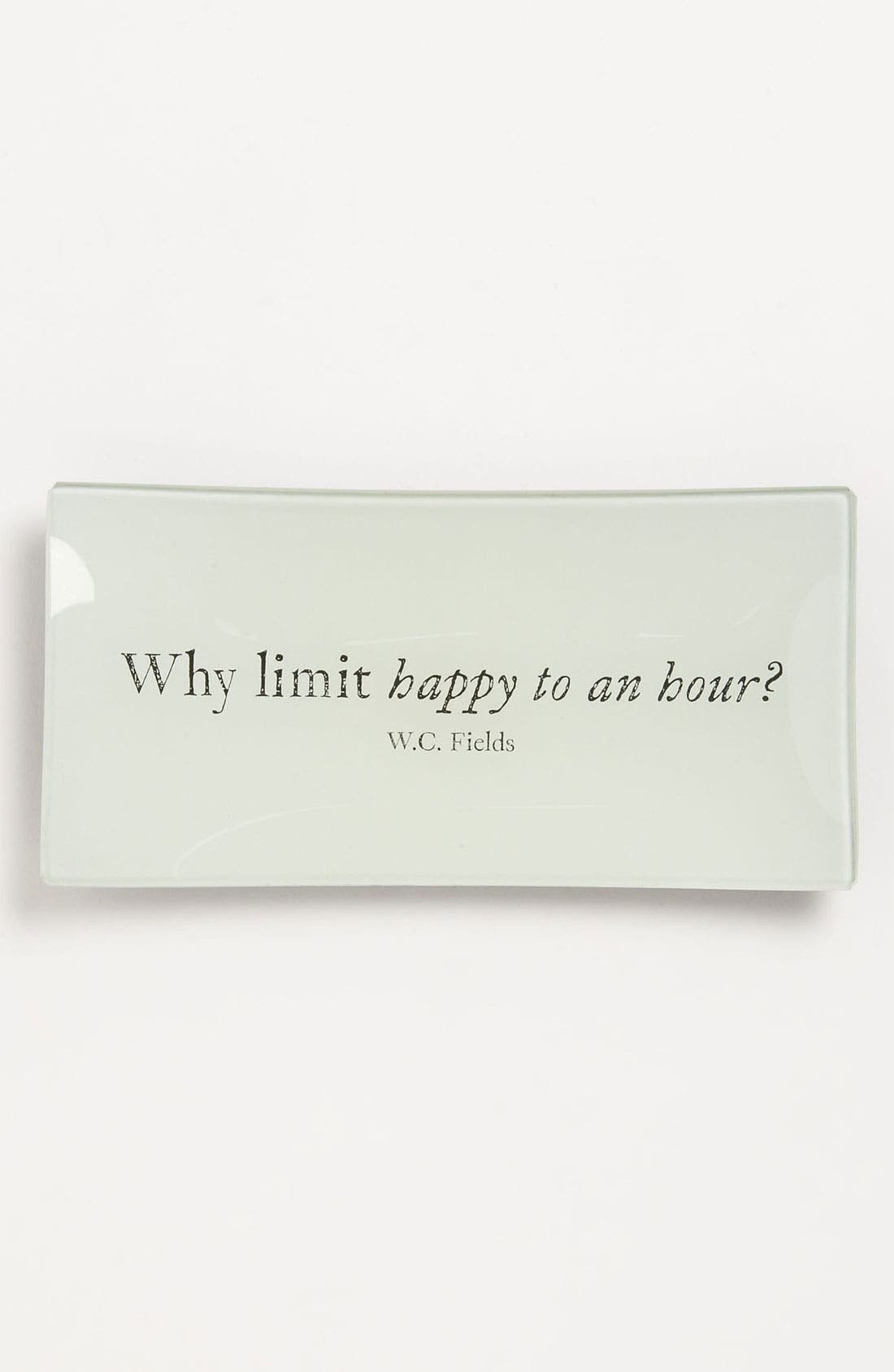 Main Image - Ben's Garden 'Why Limit Happy to an Hour' Trinket Tray