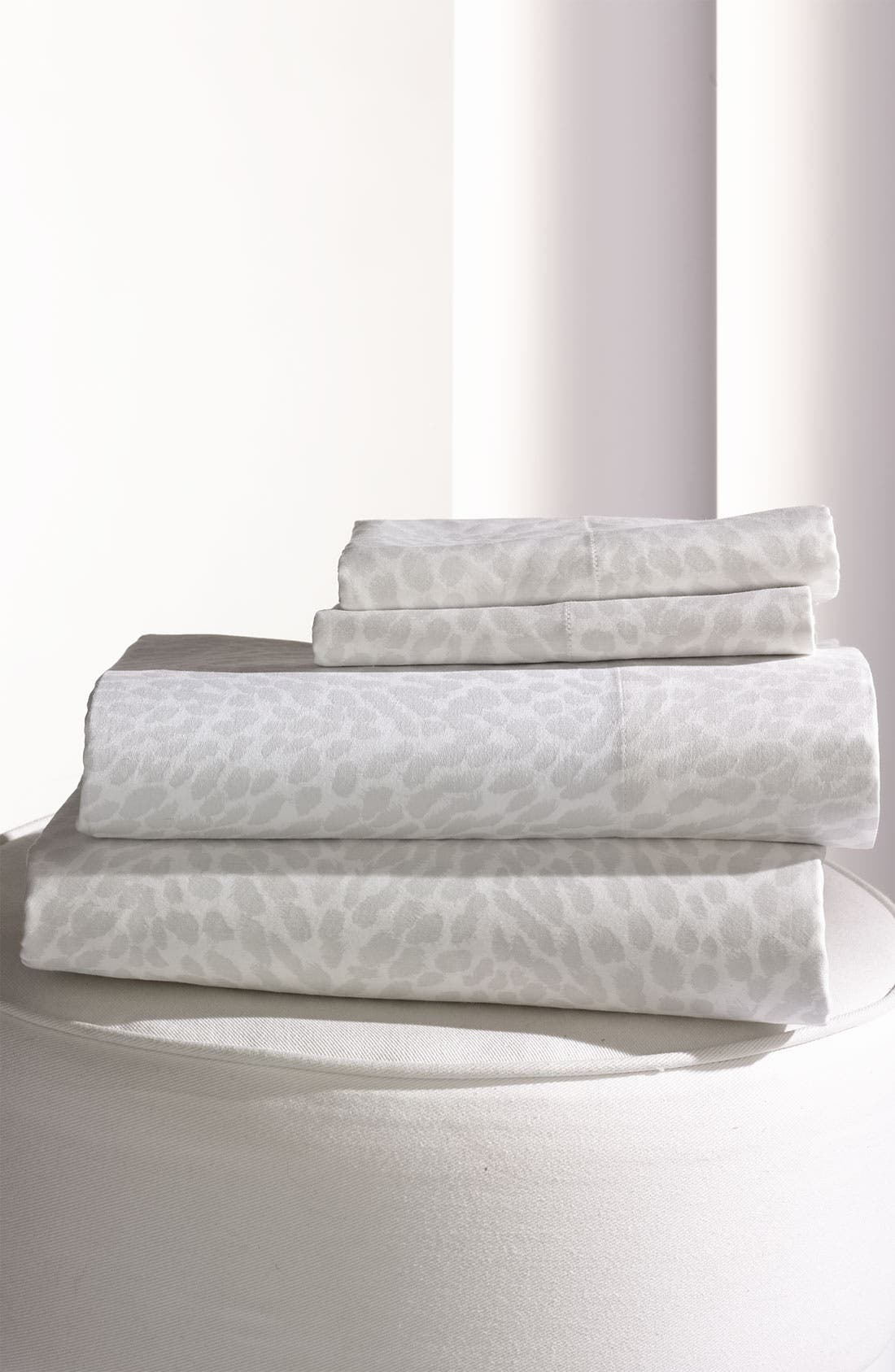 Alternate Image 1 Selected - Diane von Furstenberg 'Leopard' 300 Thread Count Pillowcase (Set of 2)