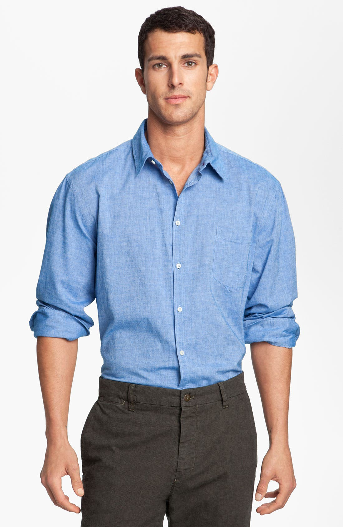 Alternate Image 1 Selected - Mason's Brushed Cotton Shirt