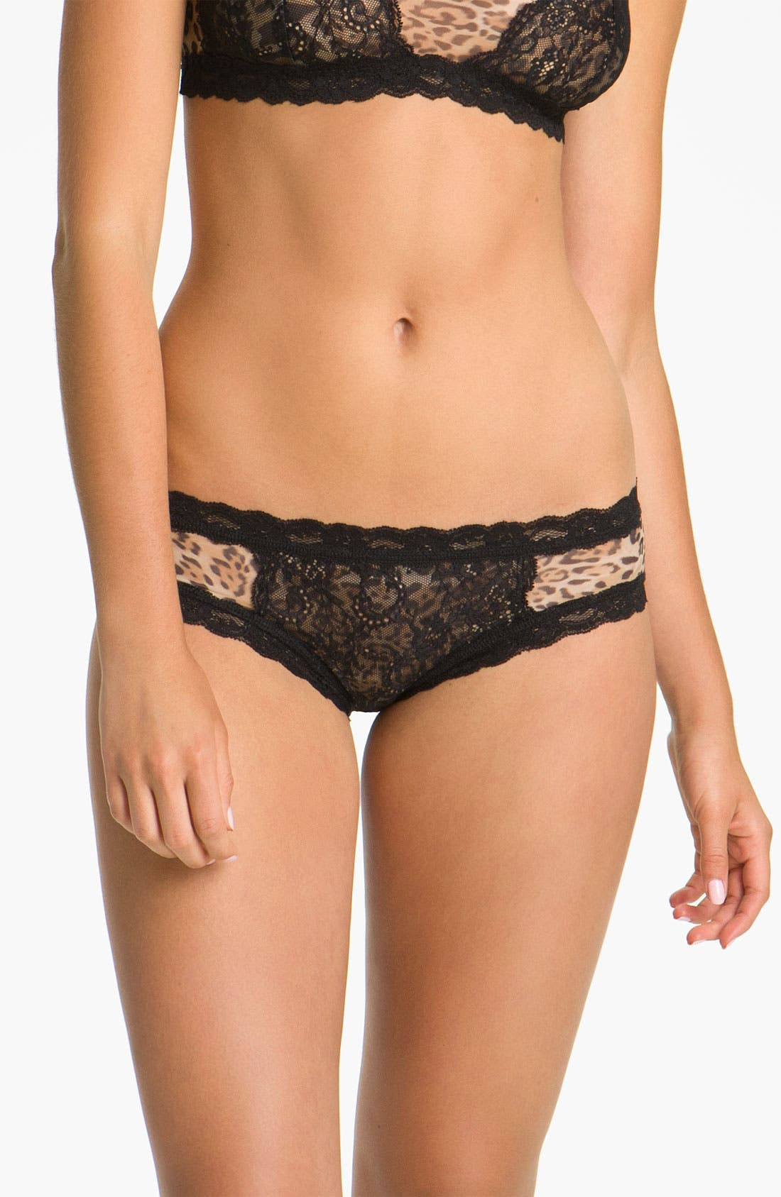 Alternate Image 1 Selected - Hanky Panky 'Nouveau Sheer Enchantment' Hipster Panties