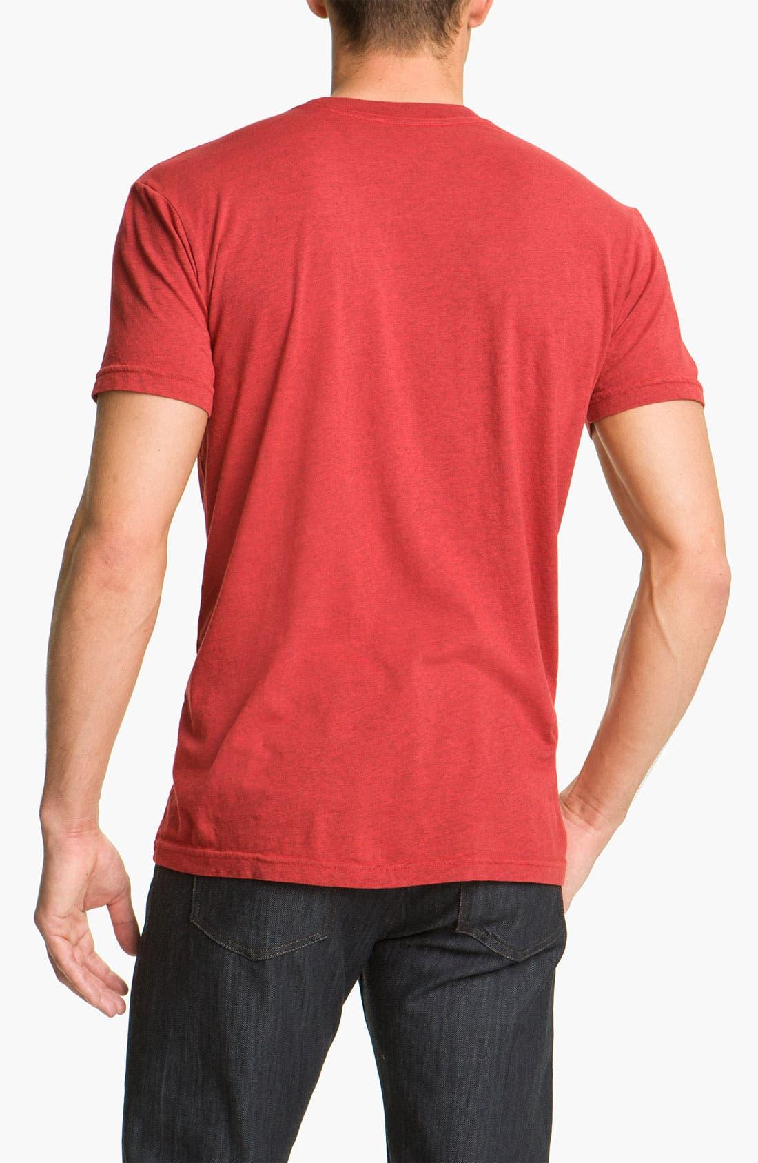 Alternate Image 2  - Quiksilver 'Lead Pill' Slim Fit T-Shirt