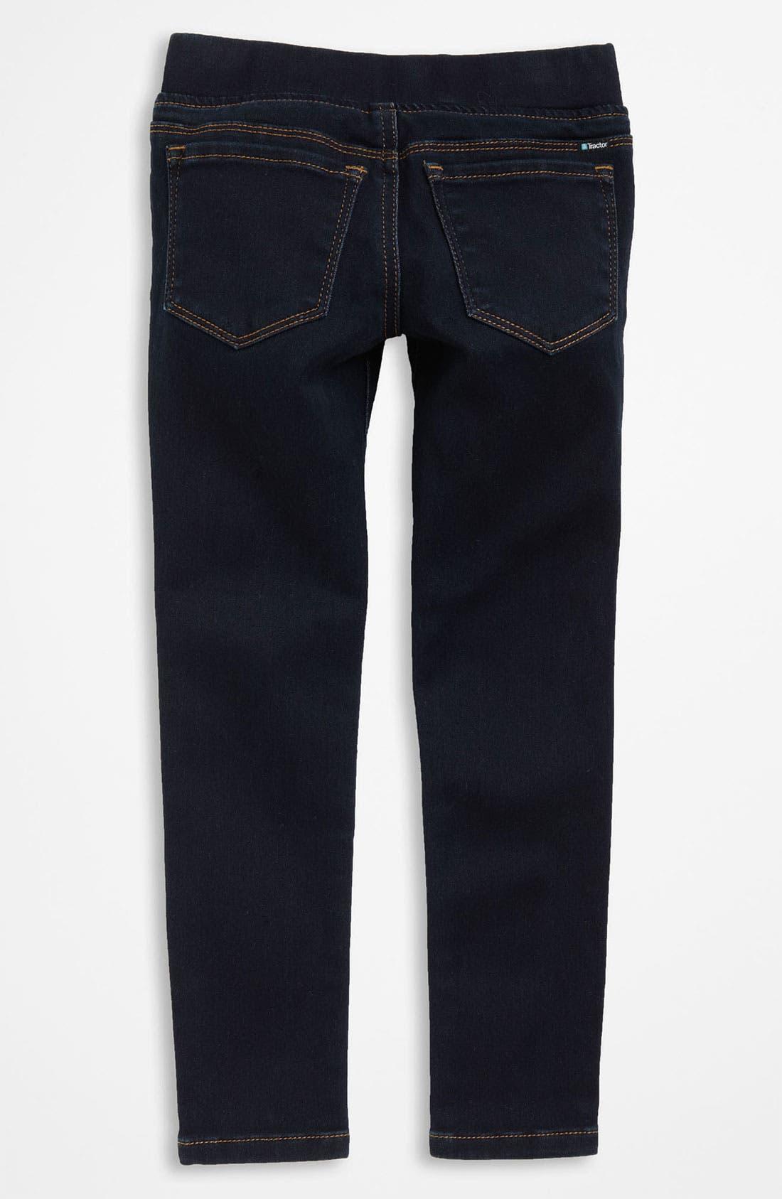 Denim Leggings,                         Main,                         color, Indigo