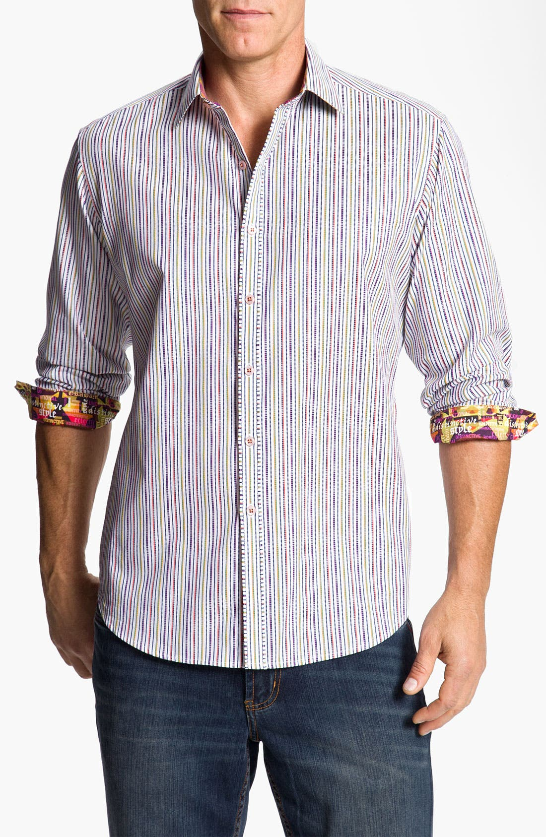 Alternate Image 1 Selected - Robert Graham 'Lemans' Sport Shirt