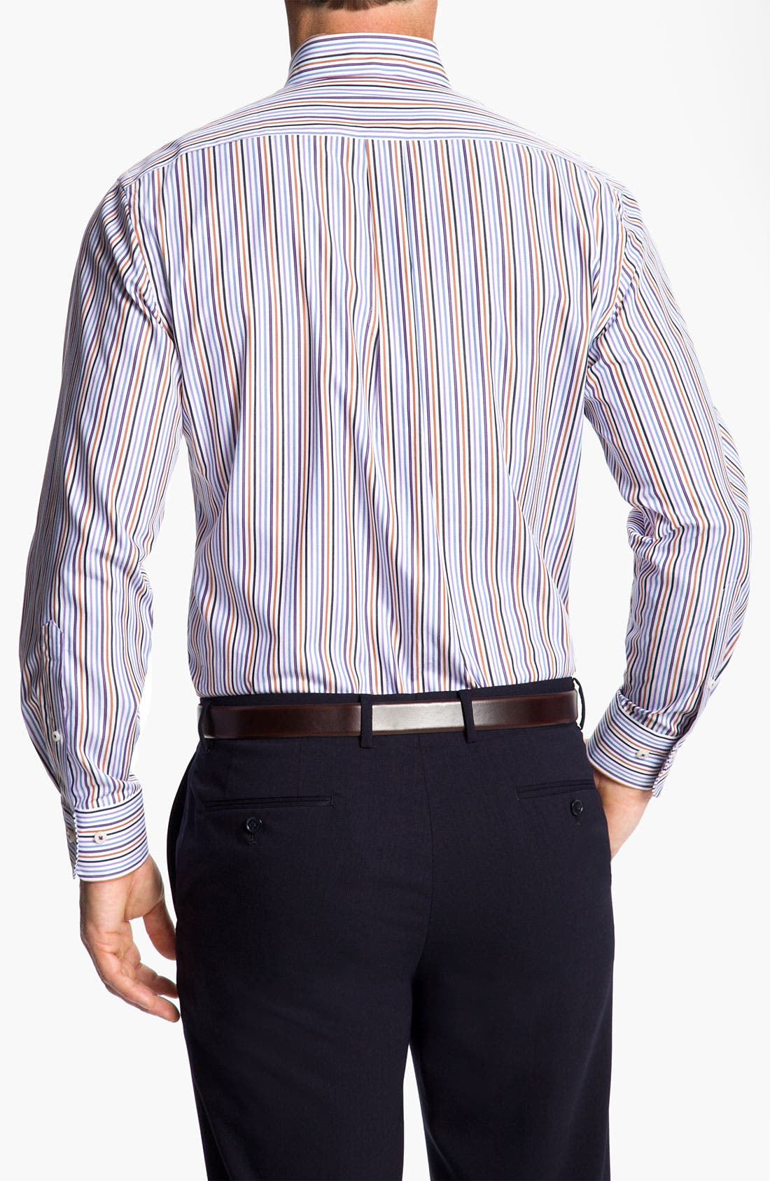 Alternate Image 2  - Peter Millar 'Pinwheel Stripe' Sport Shirt
