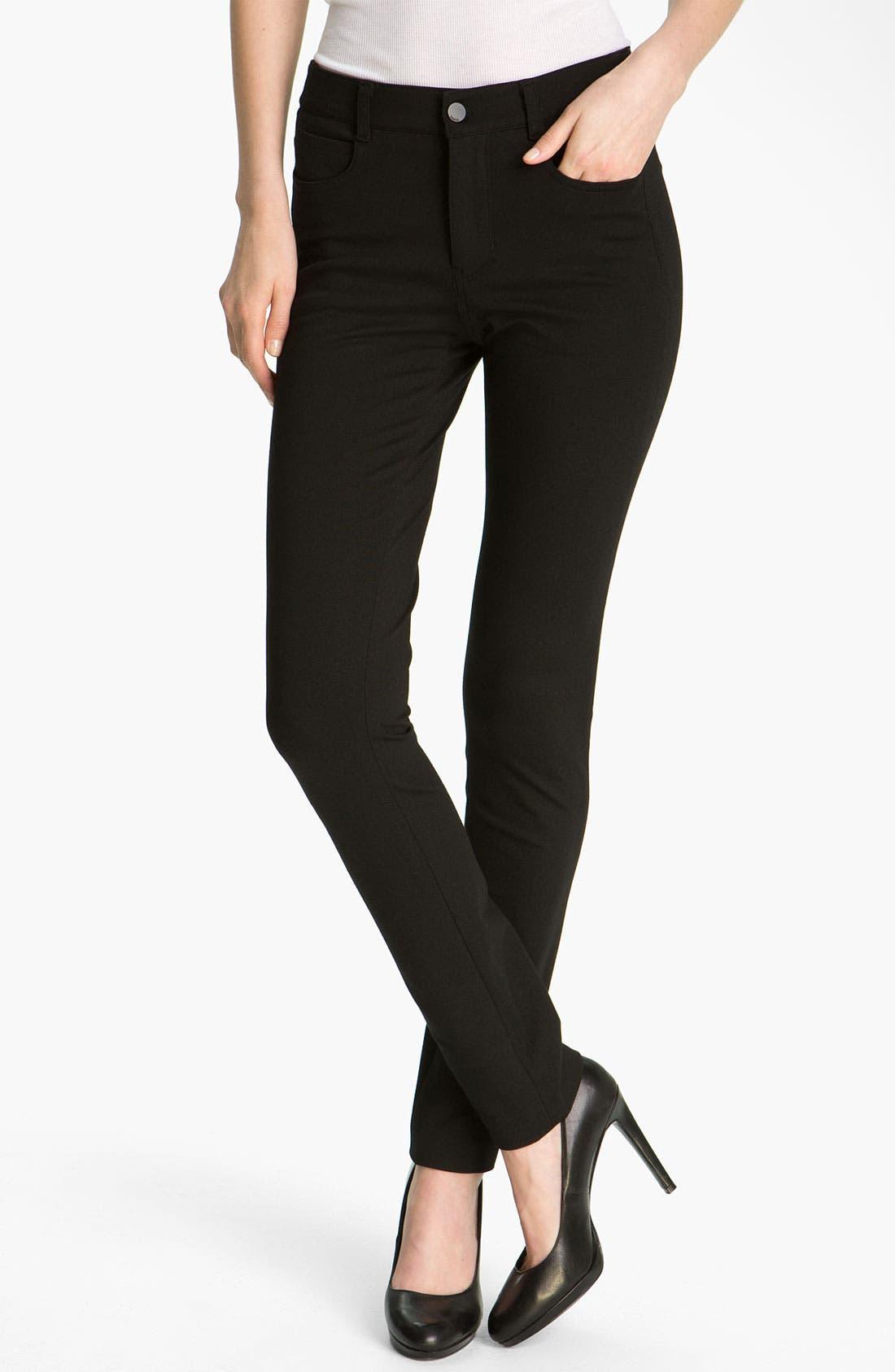 Main Image - Vince Straight Leg Ponte Jeans