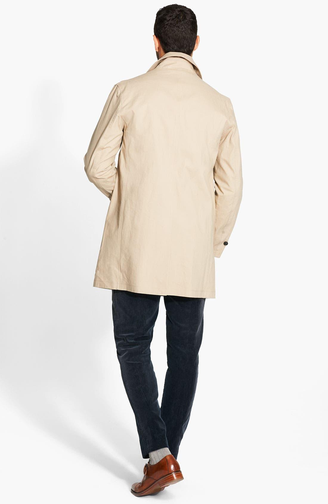 Alternate Image 2  - Jack Spade Bonded Raincoat