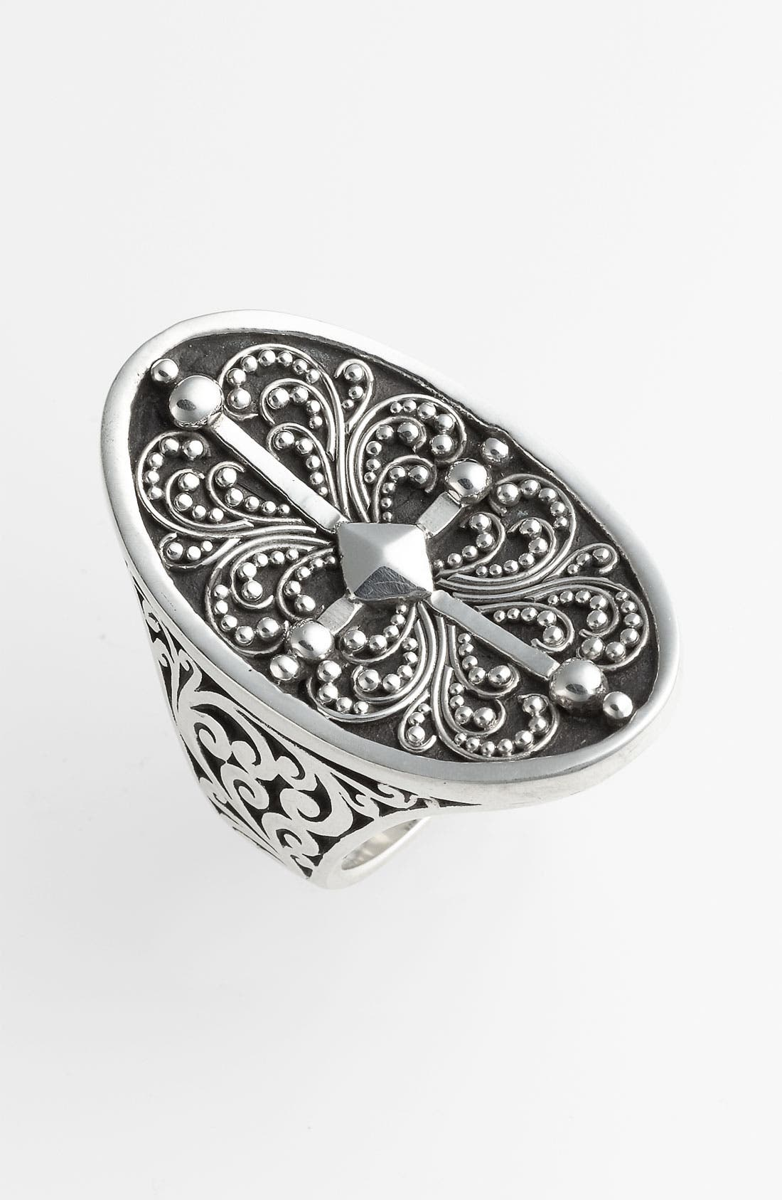 Alternate Image 1 Selected - Lois Hill 'Haveli' Granulated Saddle Ring