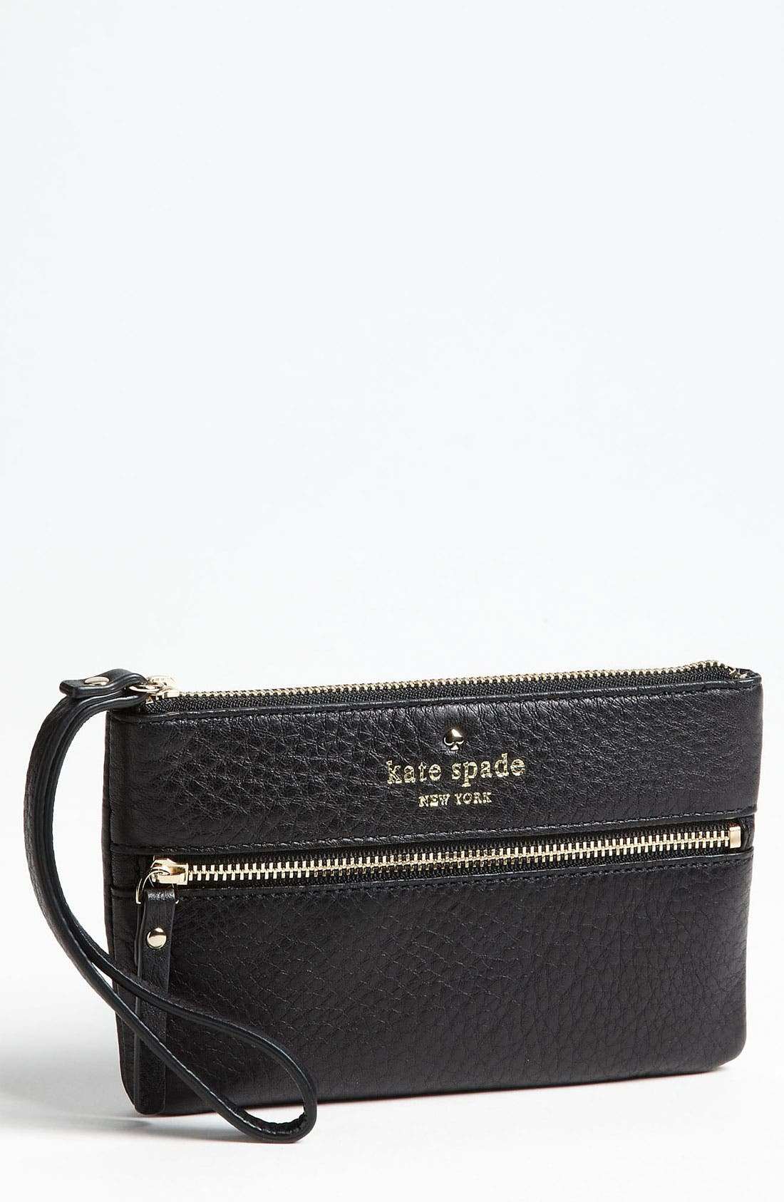 Main Image - kate spade new york 'cobble hill - bee' wristlet