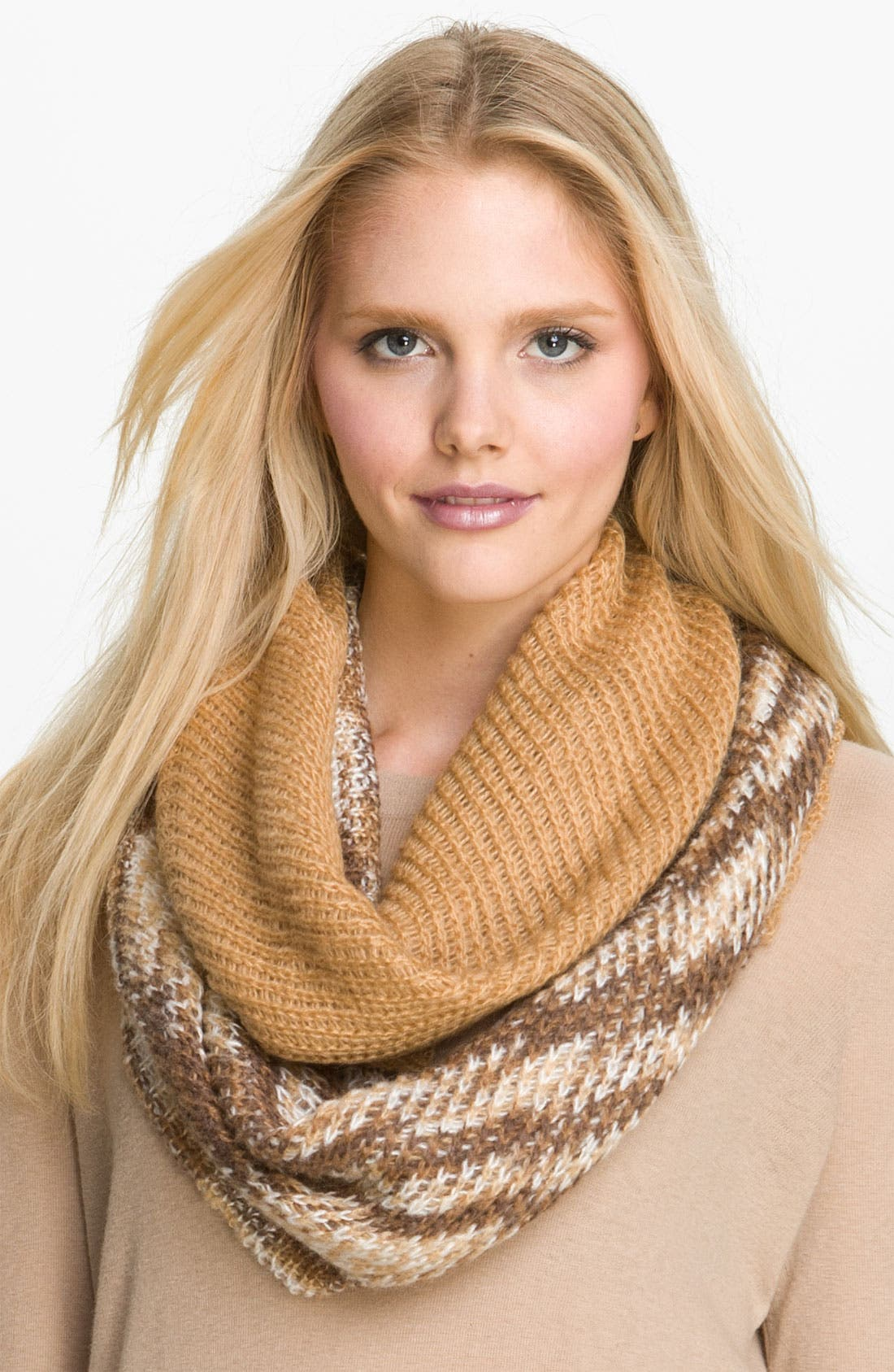 Alternate Image 1 Selected - Collection XIIX Colorblock Infinity Scarf