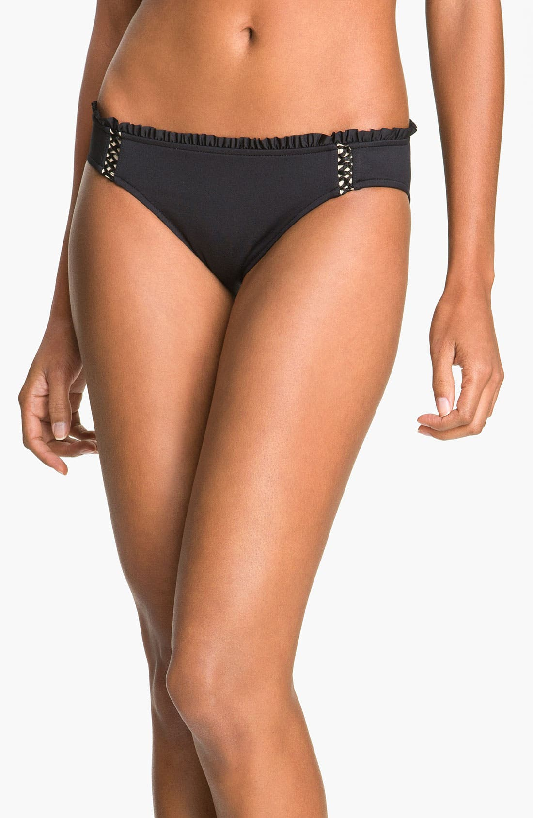 Alternate Image 1 Selected - Seafolly Ruffle Hipster Bikini Bottoms