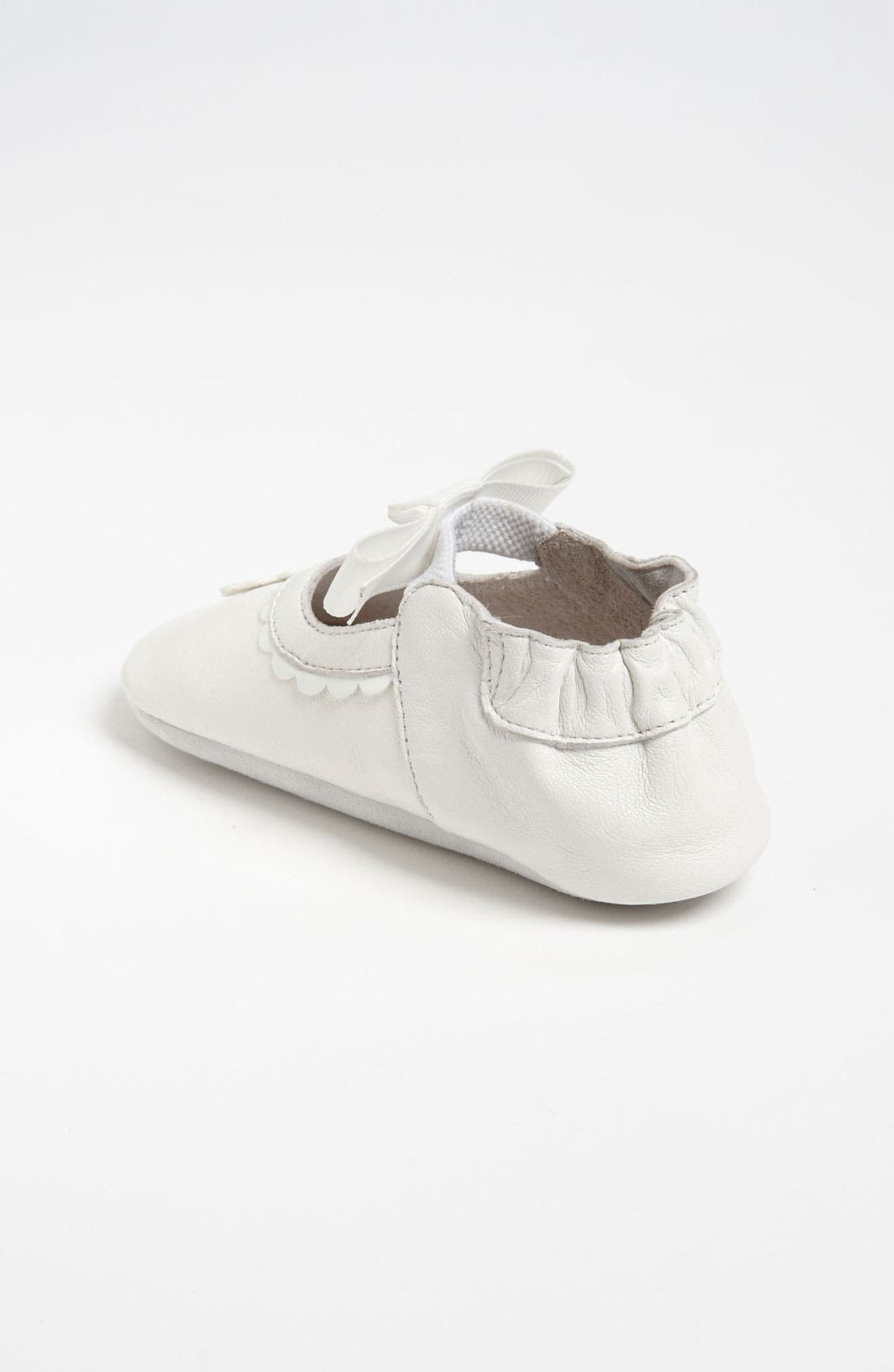 Alternate Image 2  - Nordstrom Baby 'Daisy' Crib Shoe (Infant)