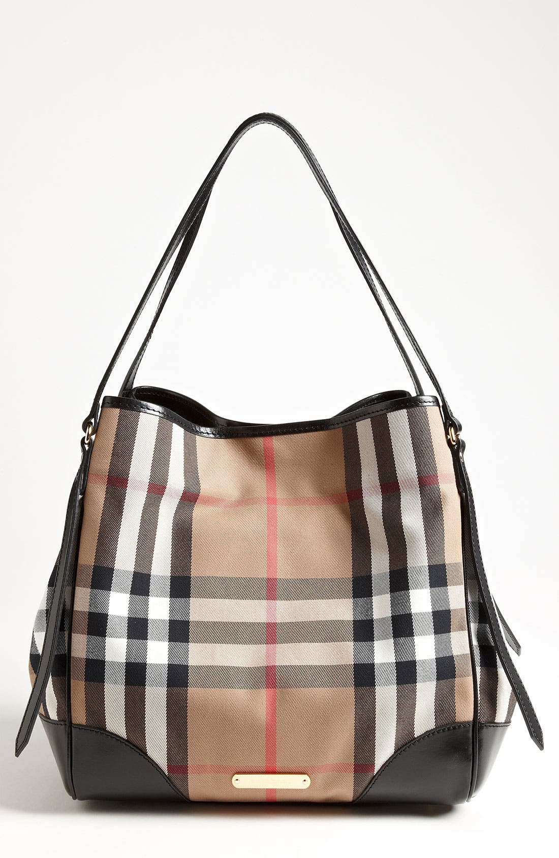 Alternate Image 1 Selected - Burberry 'House Check' Shoulder Tote