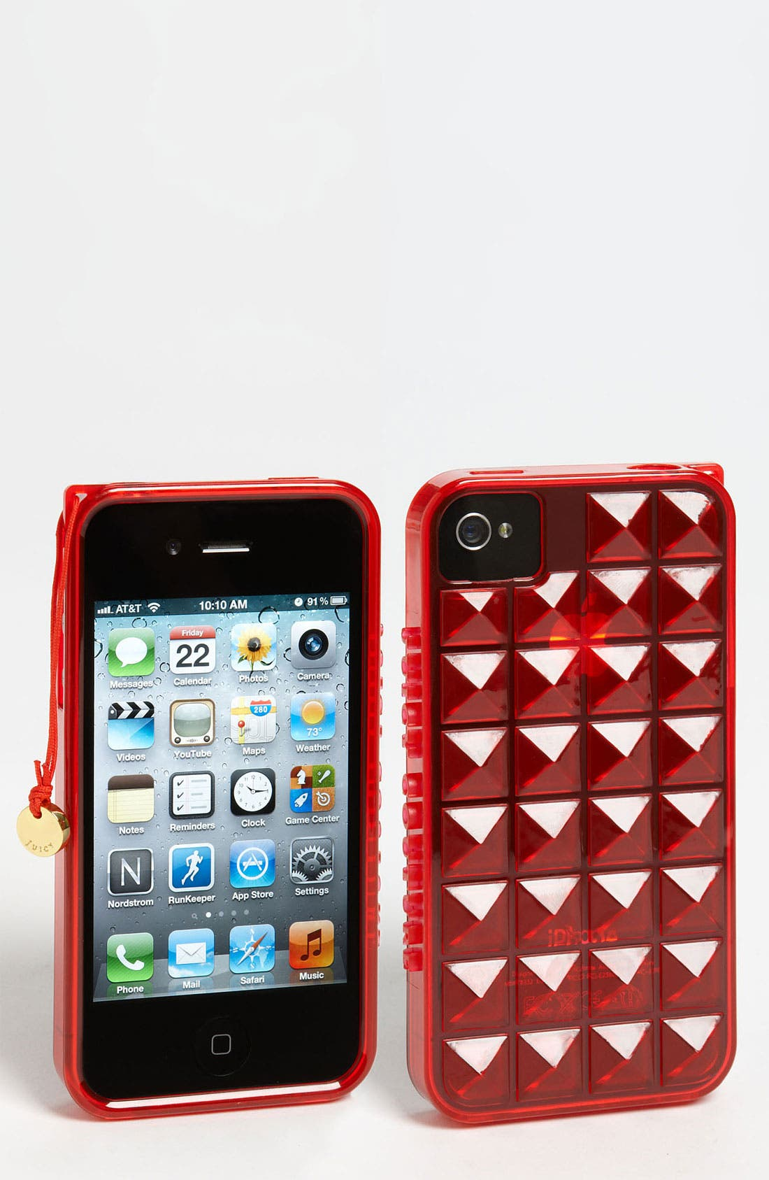 Main Image - Juicy Couture 'Pyramid Gelli' iPhone 4 & 4S Case