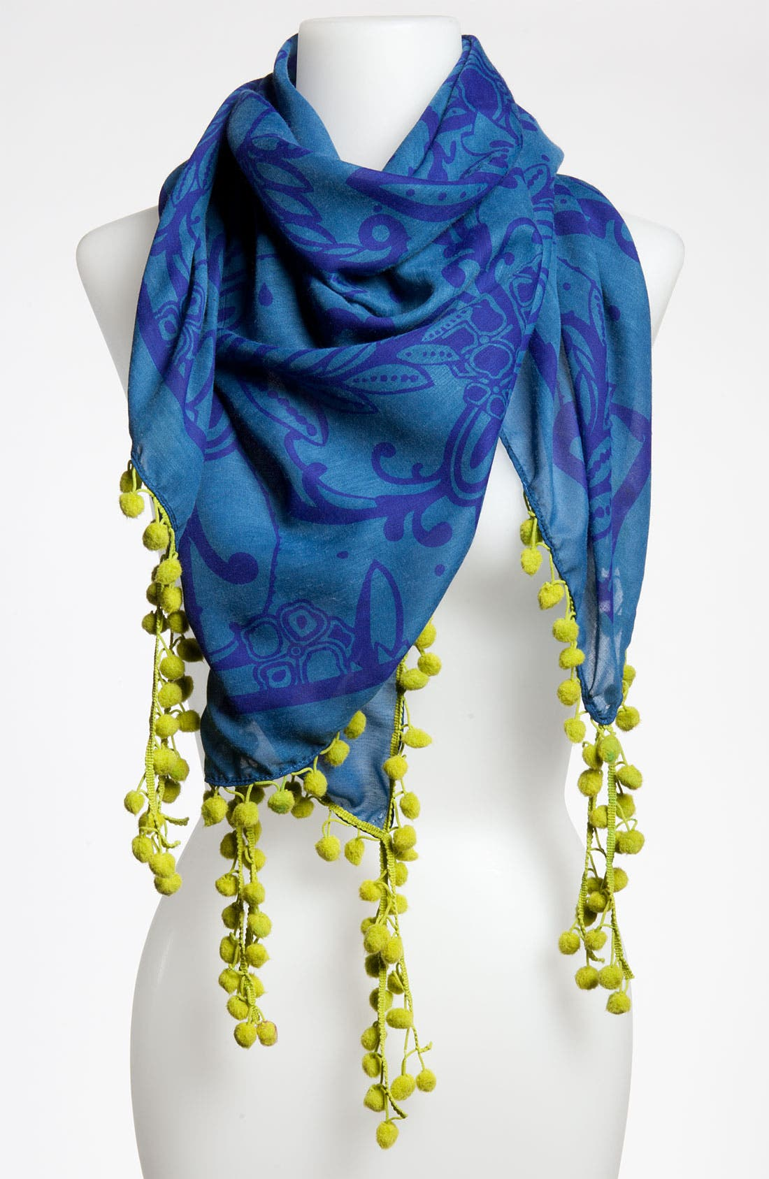 Alternate Image 1 Selected - Michael Stars 'Inked Paisley' Scarf