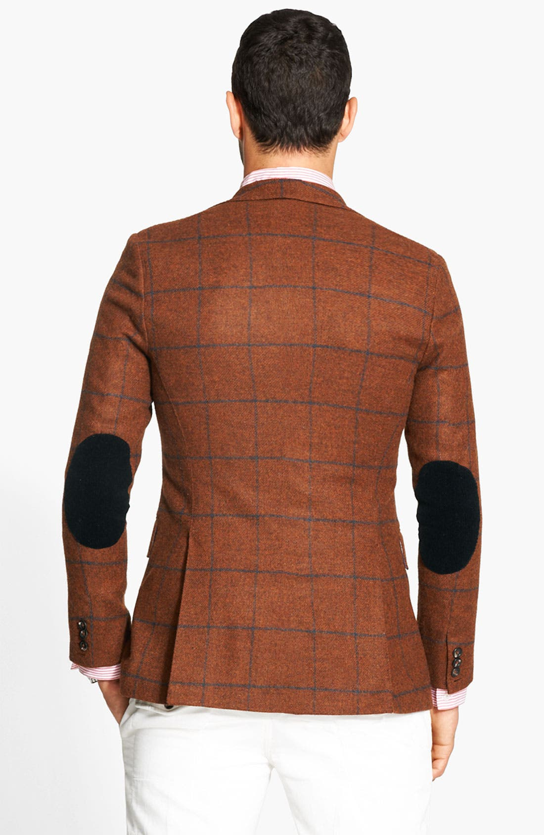 Alternate Image 2  - Michael Bastian Three Button Jacket
