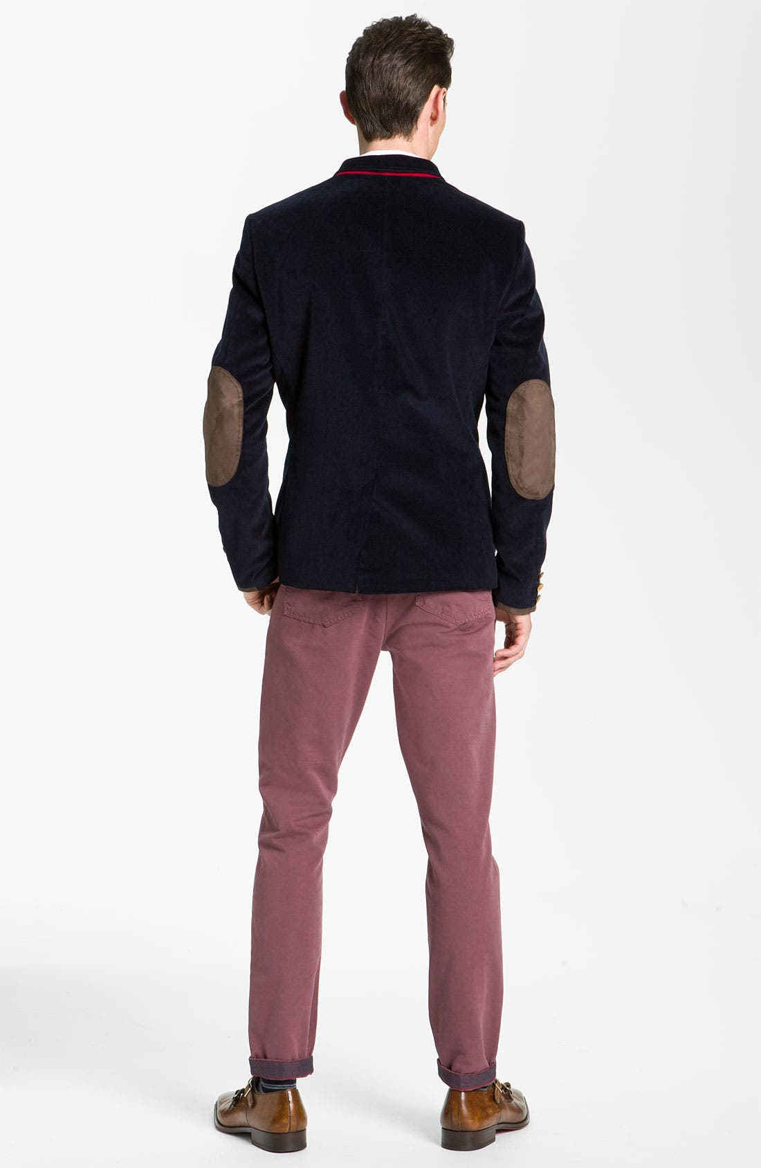 Alternate Image 5  - Ted Baker London 'Soochin' Slim Fit Chinos