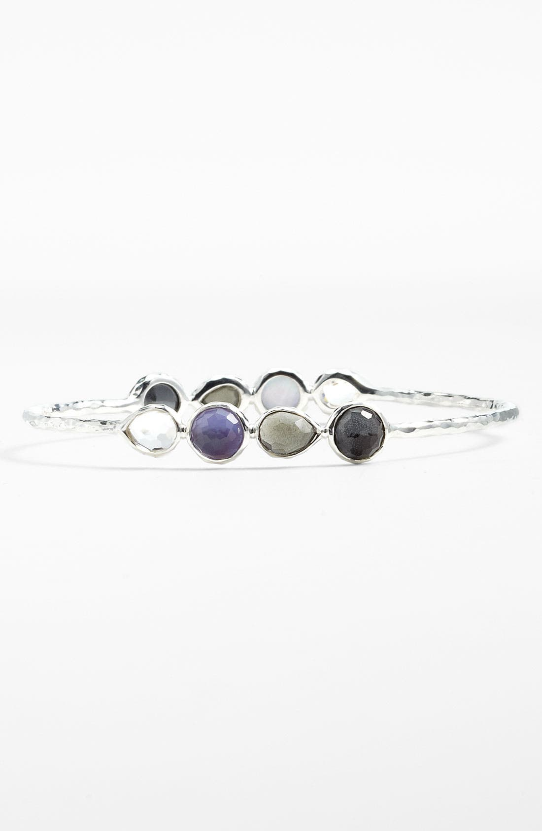 Alternate Image 1 Selected - Ippolita 'Tiara' 8-Stone Cluster Bangle (Nordstrom Exclusive)