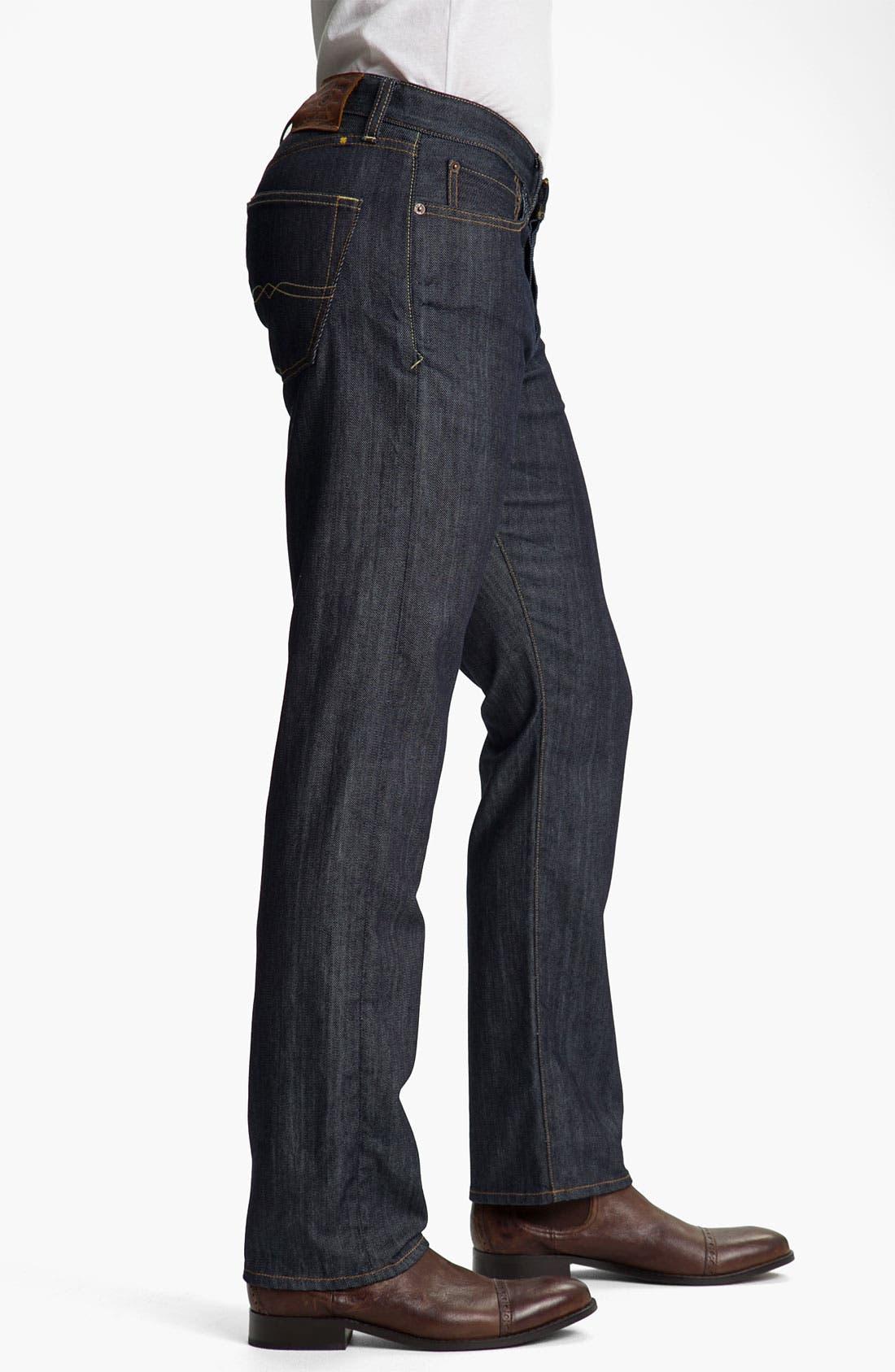Alternate Image 3  - Lucky Brand '123 Heritage' Slim Straight Leg Jeans (Kino)