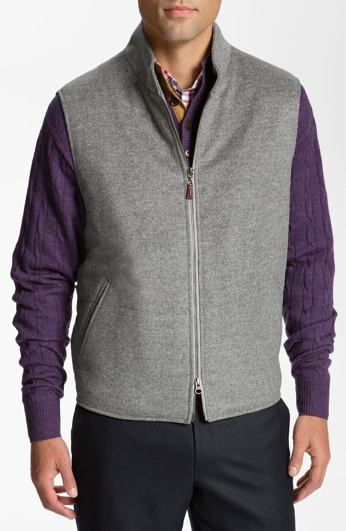 Main Image - Peter Millar Wool & Cashmere Vest