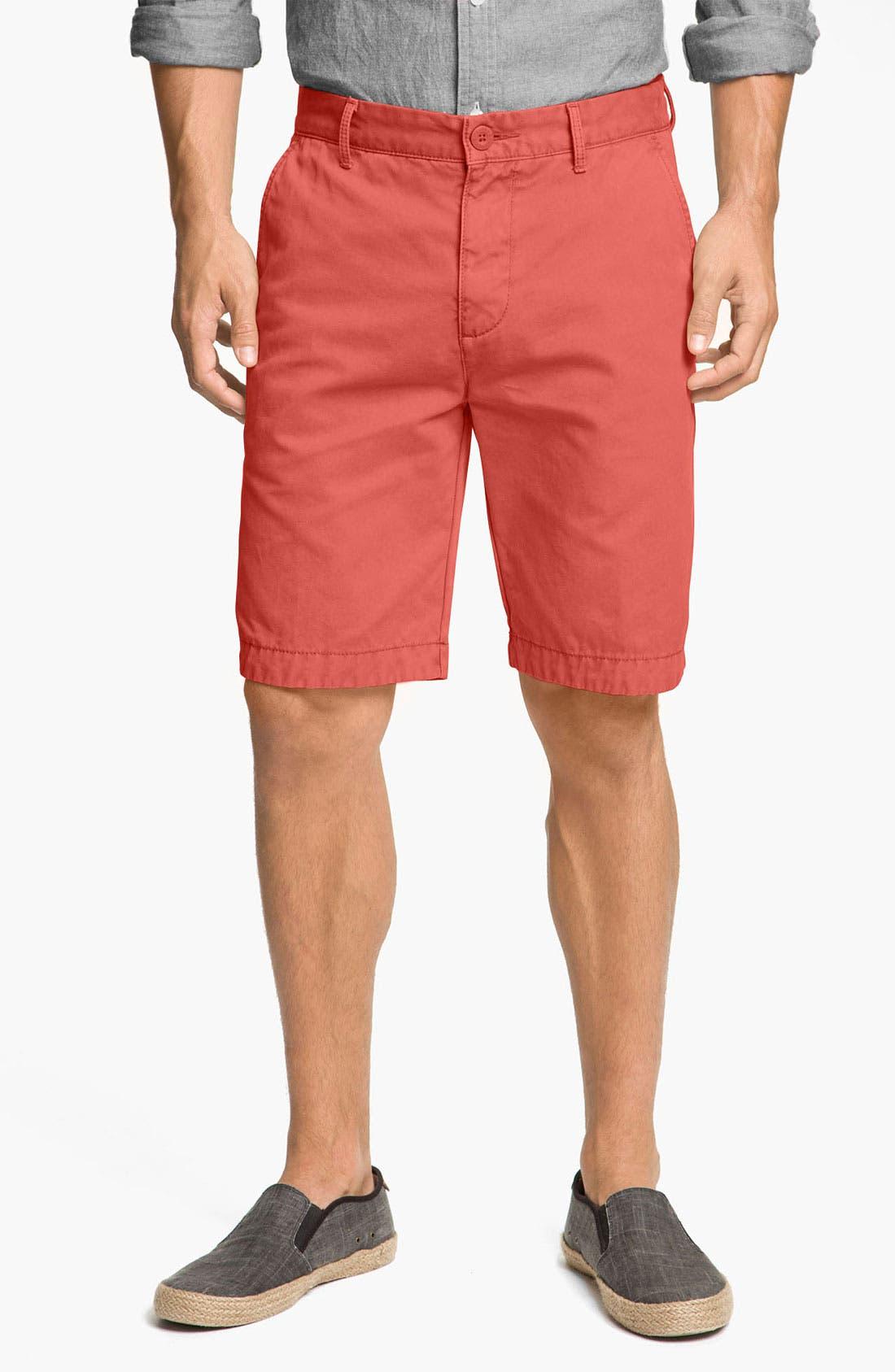 Main Image - Halsey 44 'Prep' Flat Front Shorts