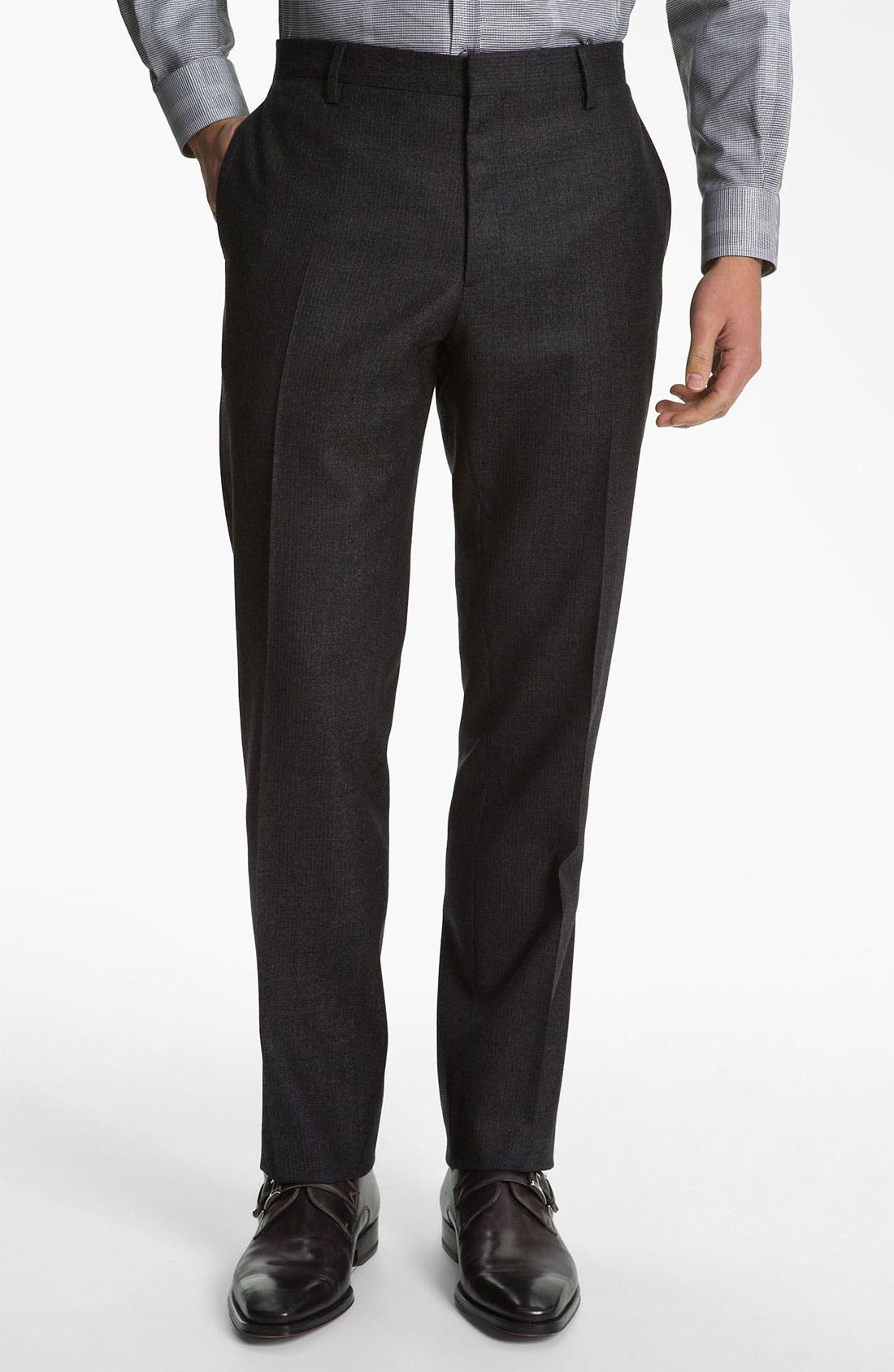 Alternate Image 4  - Burberry London Extra Trim Fit Suit