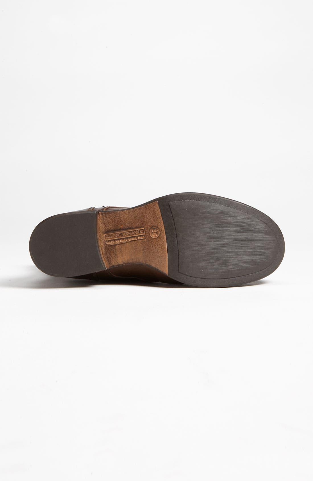Alternate Image 4  - Alberto Fermani Lace-Up Boot